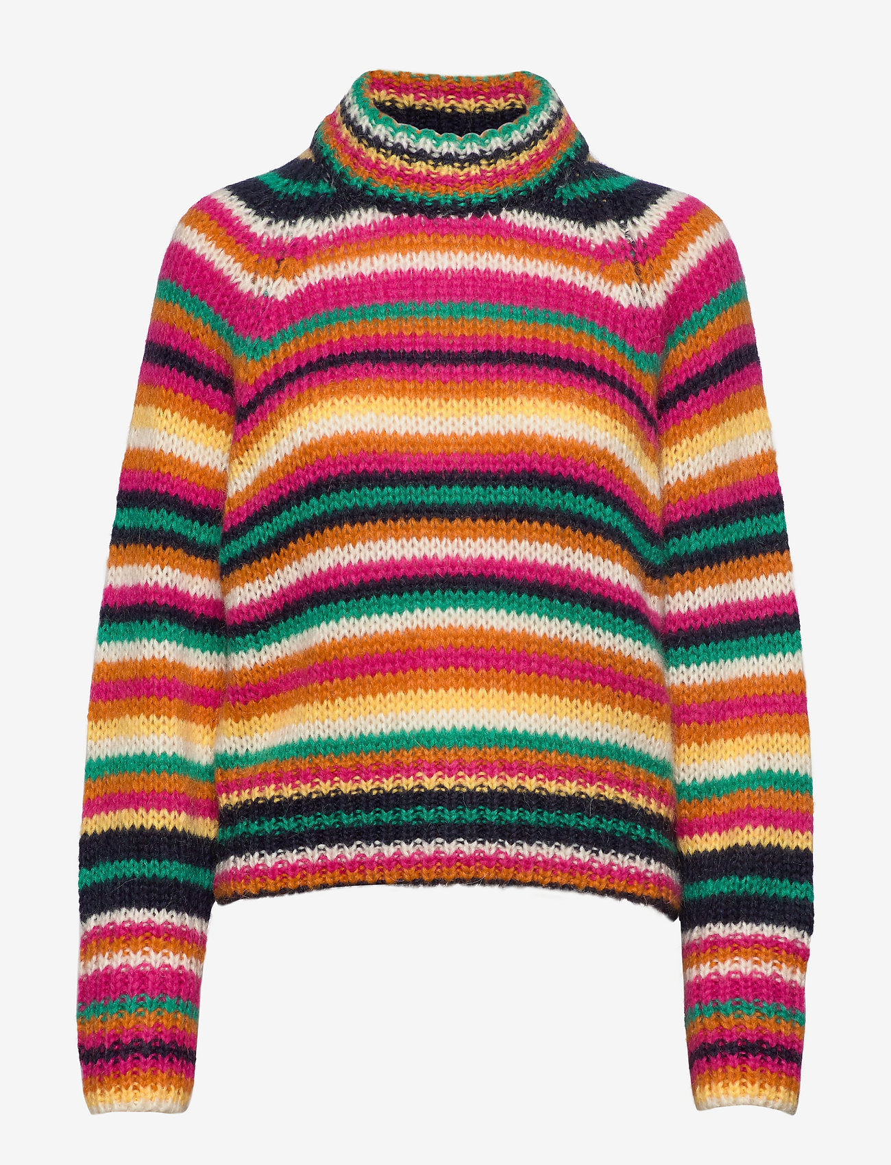 ODD MOLLY - Novelty Stripe Sweater - turtlenecks - multi - 1