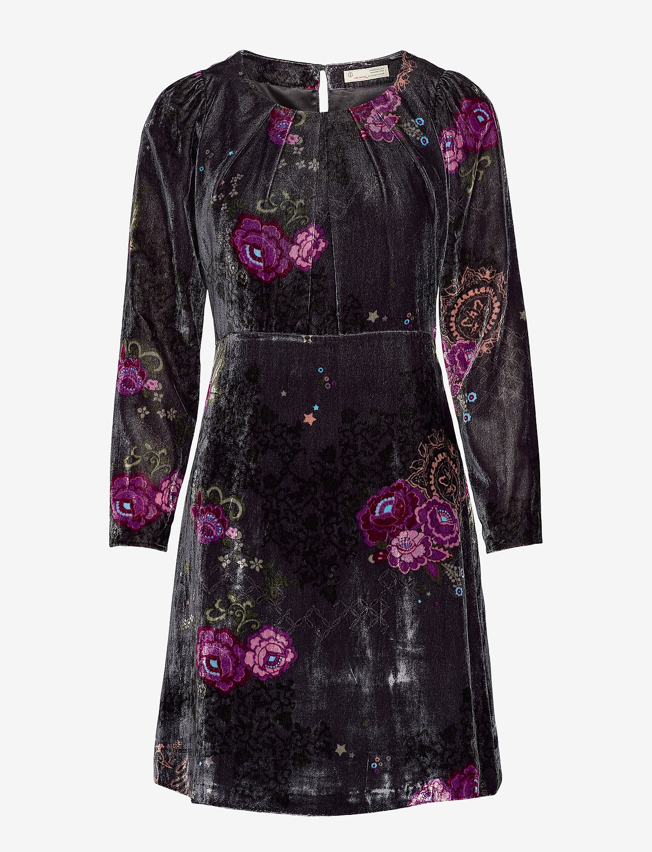 ODD MOLLY - Vera Dress - hverdagskjoler - asphalt - 1