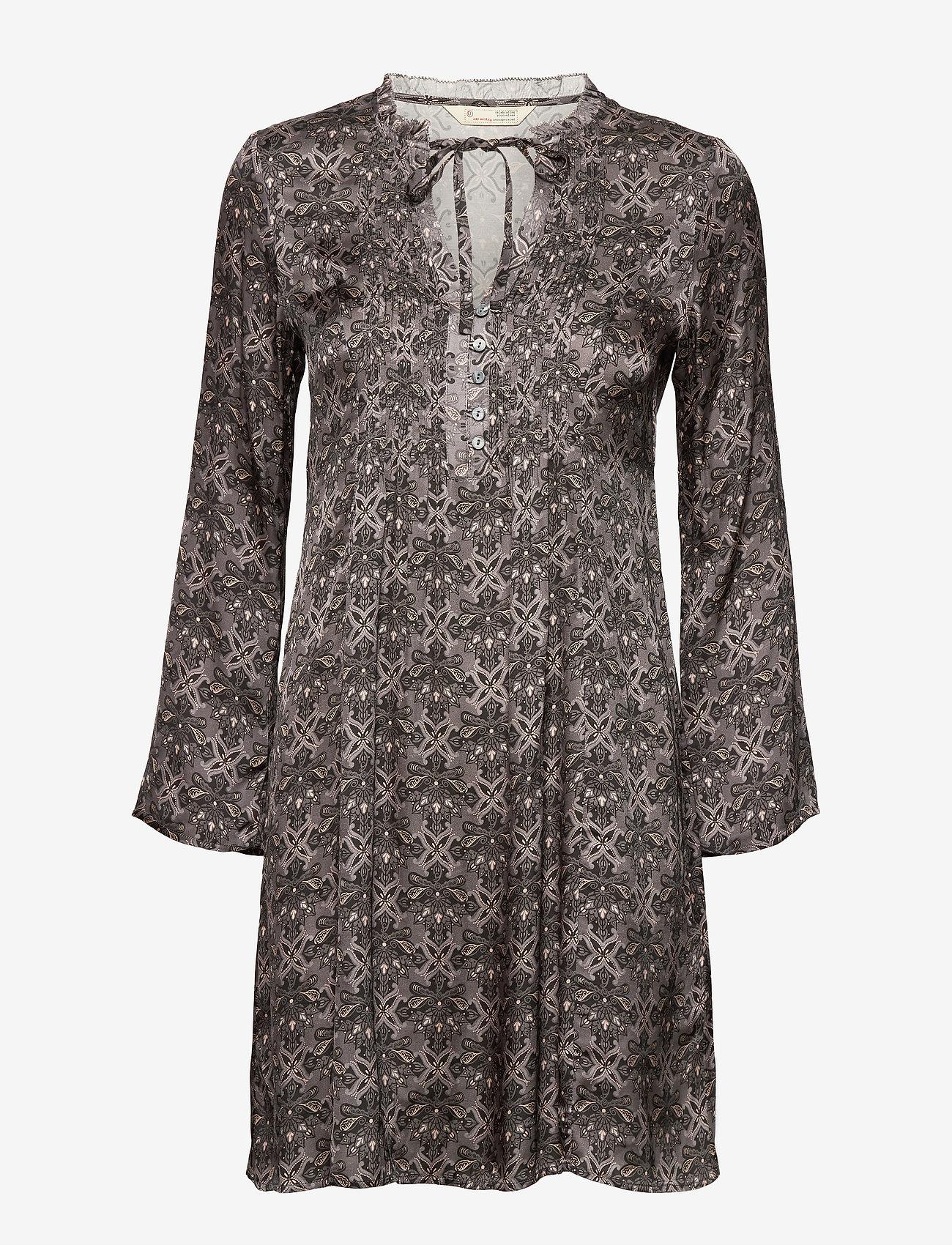 ODD MOLLY - Harper Dress - hverdagskjoler - asphalt - 1