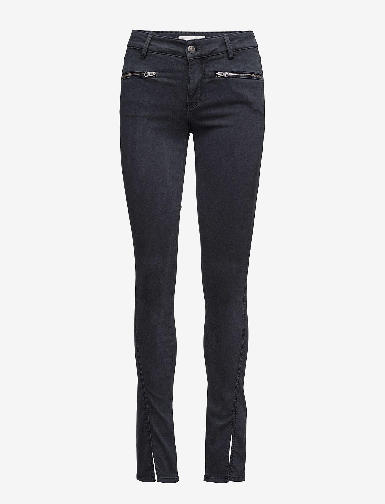 ODD MOLLY - leg-endary slits jeans - jeans skinny - blue black - 0