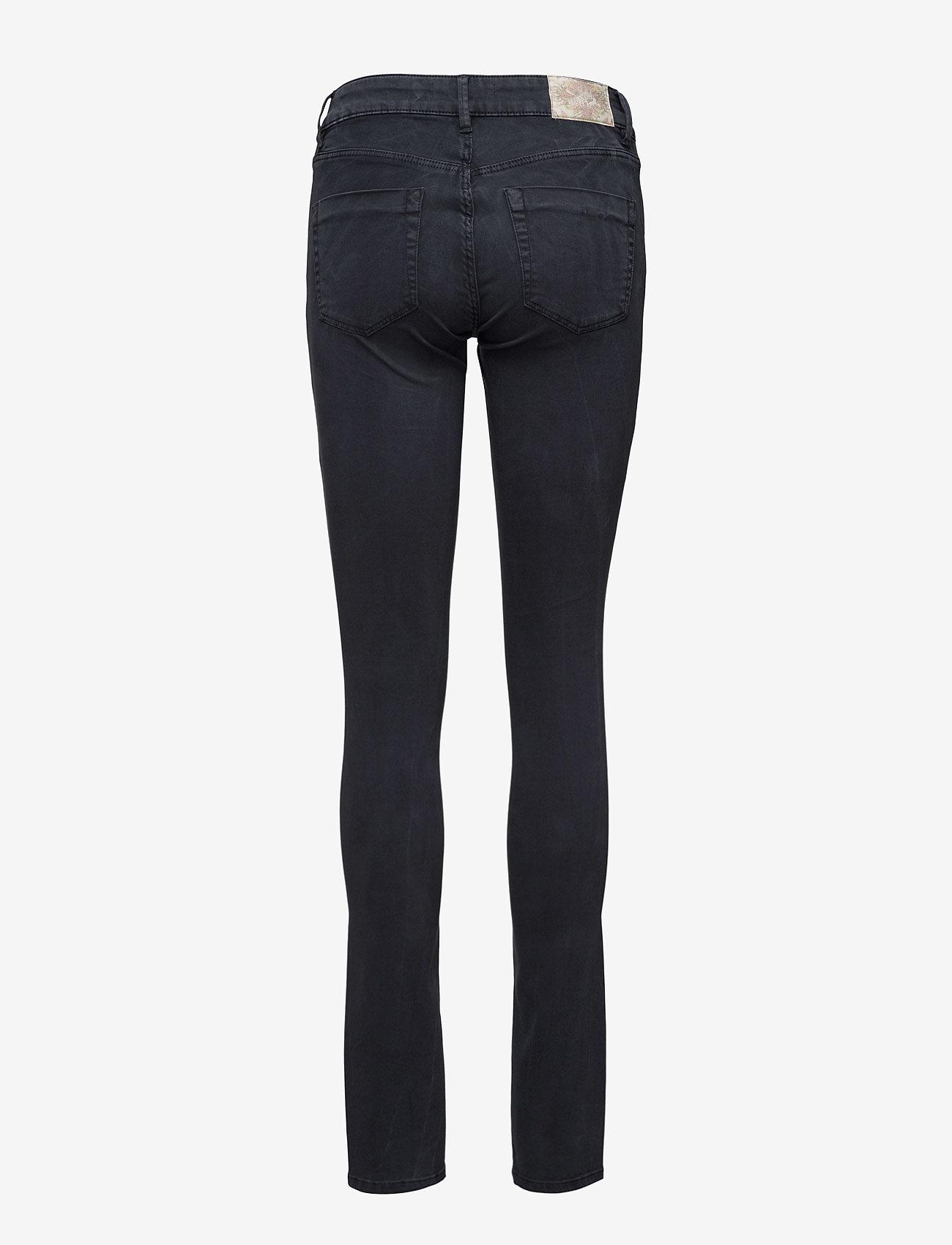 ODD MOLLY - leg-endary slits jeans - jeans skinny - blue black - 1