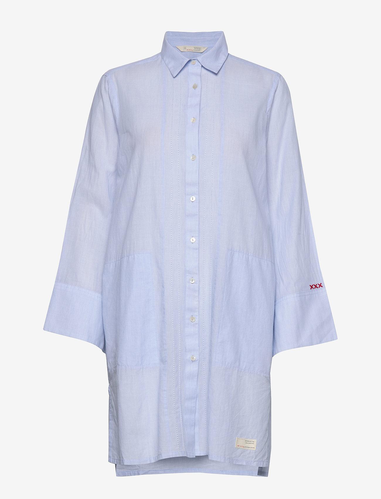 ODD MOLLY - Electrifying Long Shirt - tuniques - lucky blue - 0