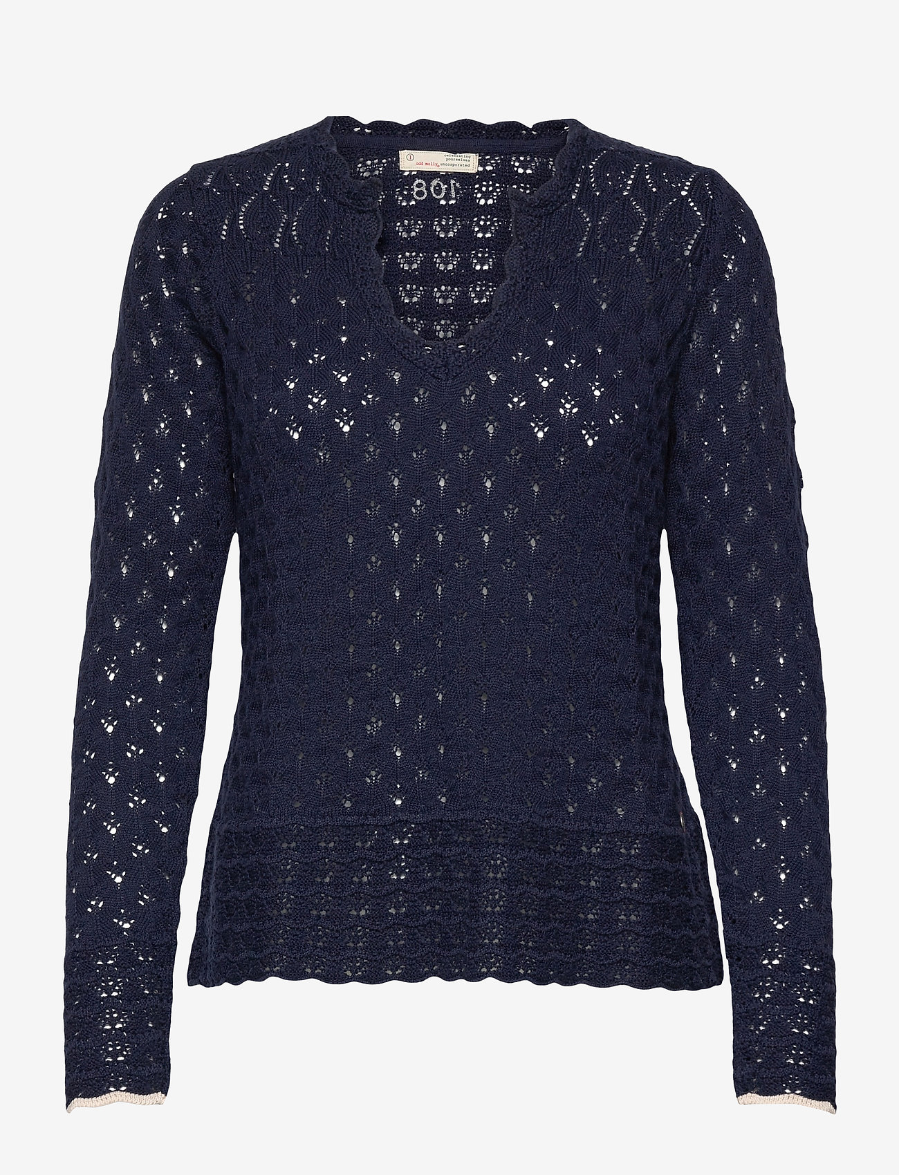 ODD MOLLY - Meryl Sweater - trøjer - dark blue - 1