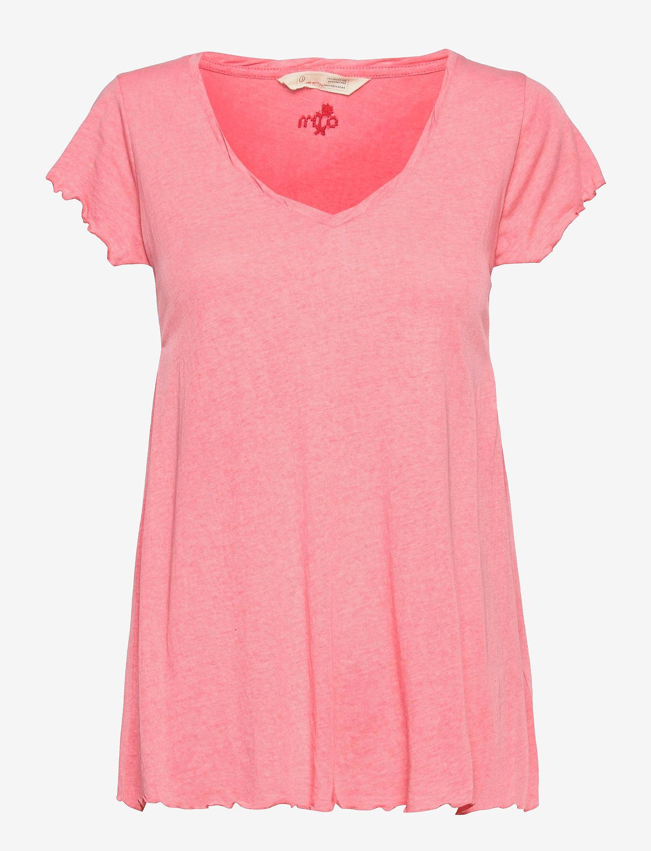 ODD MOLLY - Carole Top - t-shirts - pink dream - 1