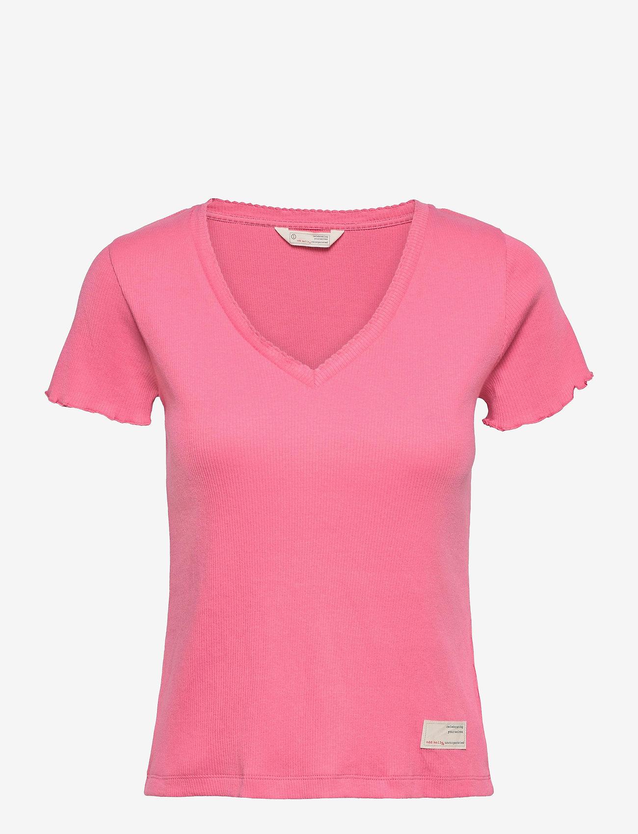 ODD MOLLY - Lynda Top - t-shirts - pink confetti - 1