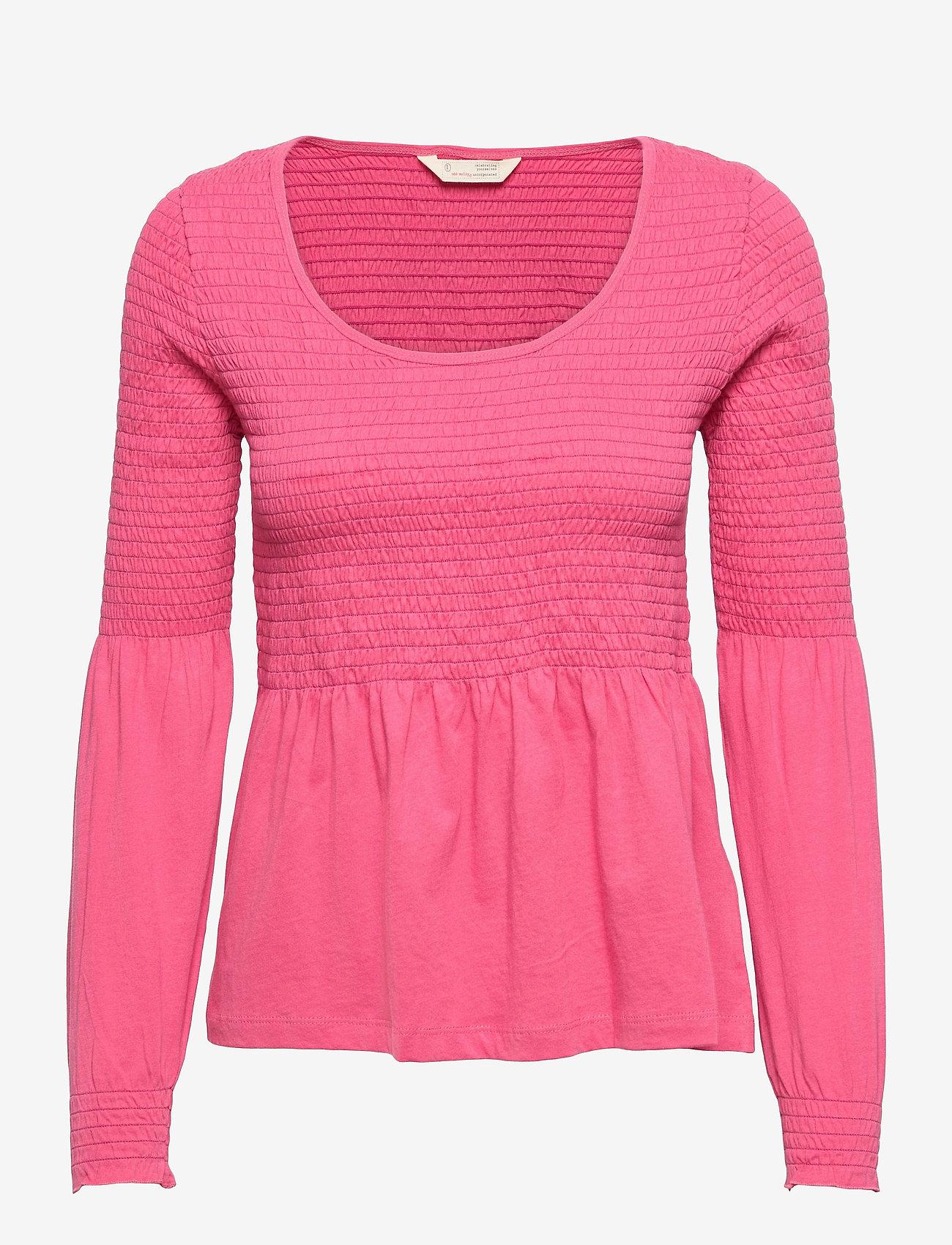 ODD MOLLY - Valerie Top - langærmede bluser - pink fudge - 1