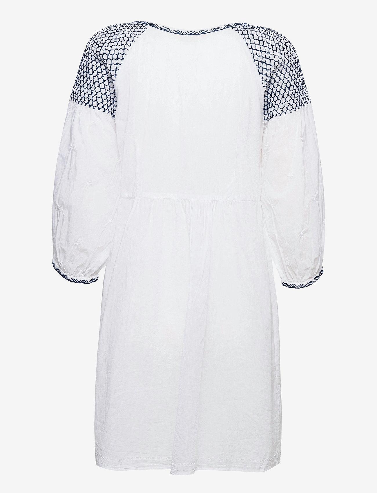 ODD MOLLY - Jill Dress - midi dresses - bright white - 2