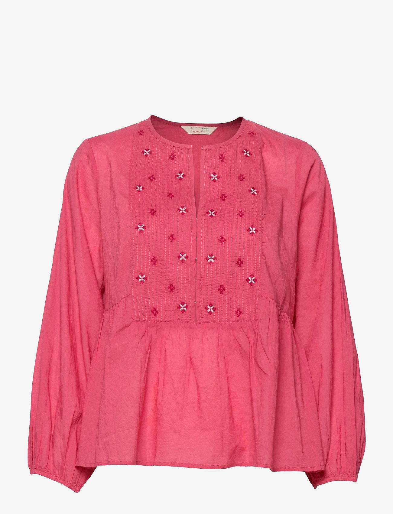 ODD MOLLY - Kayla Blouse - langærmede bluser - pink fudge - 1