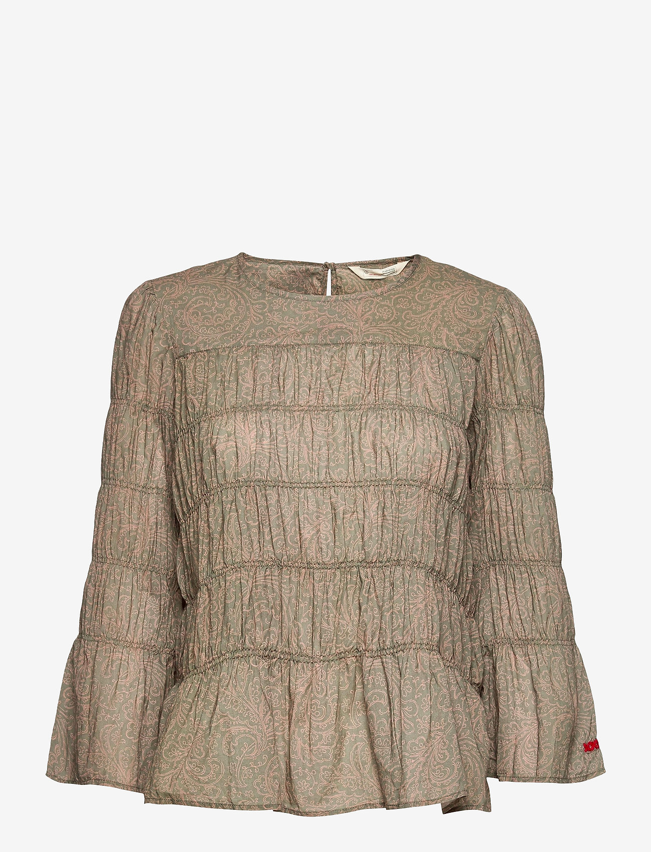 ODD MOLLY - Judy Blouse - langærmede bluser - faded cargo - 1