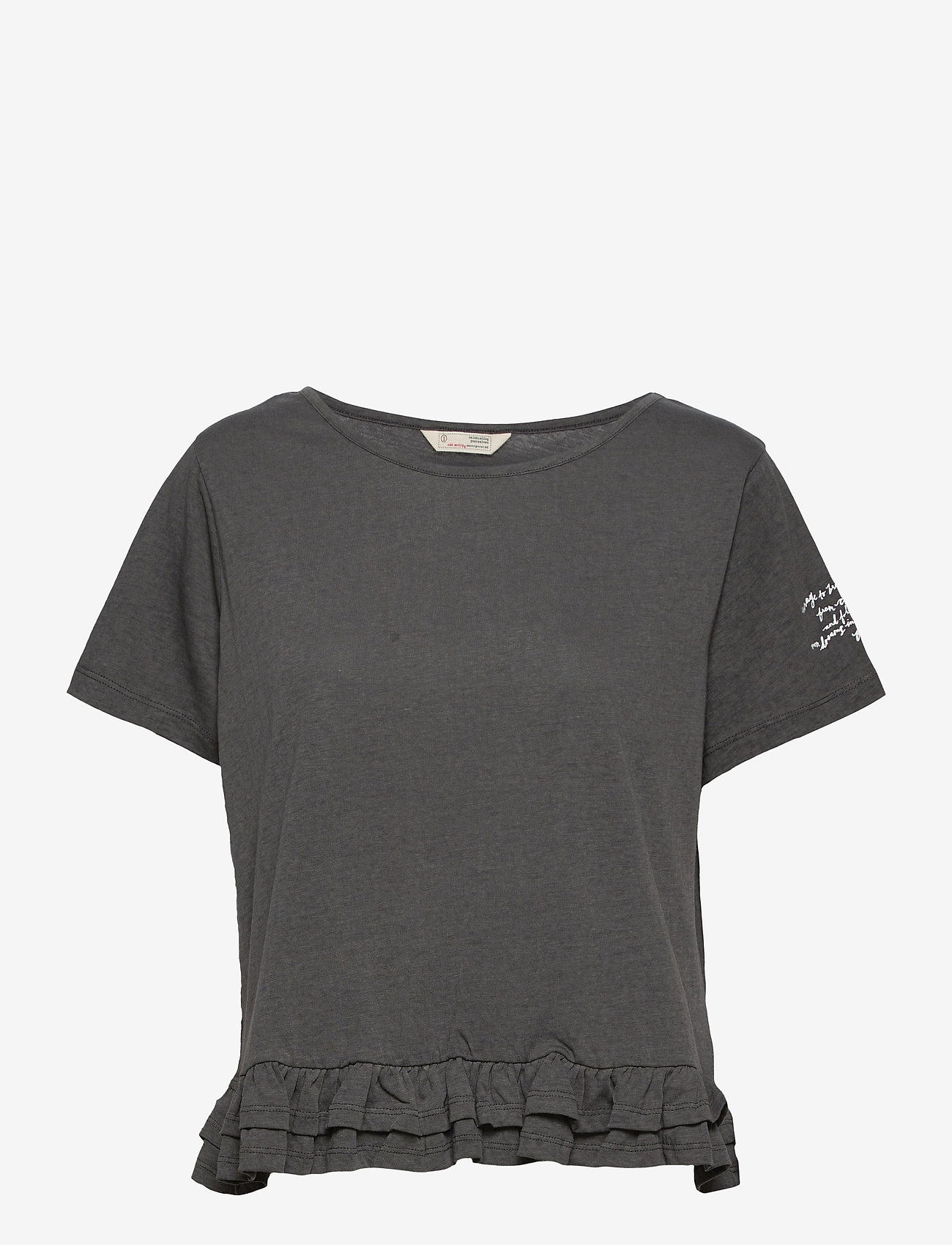 ODD MOLLY - Sally Top - t-shirts - asphalt - 1