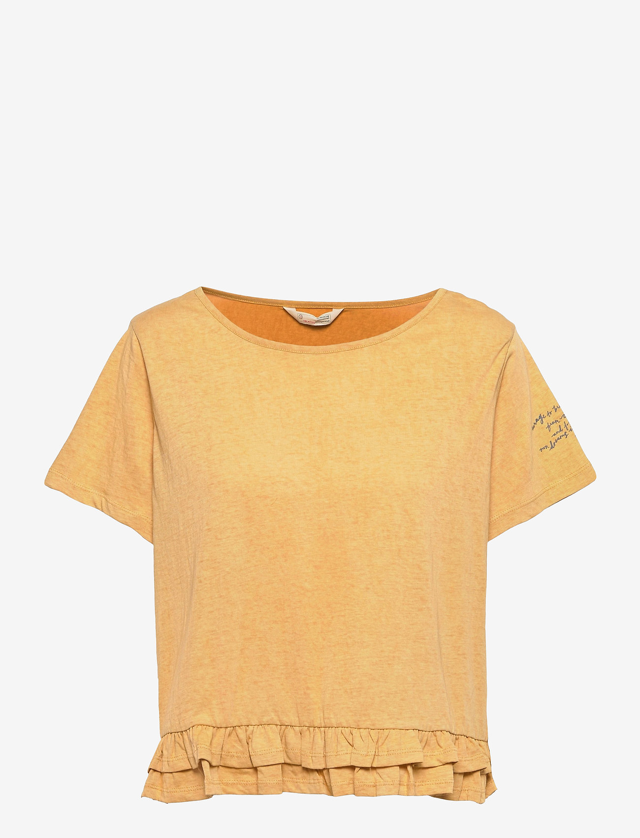 ODD MOLLY - Sally Top - t-shirts - golden biscotti - 1