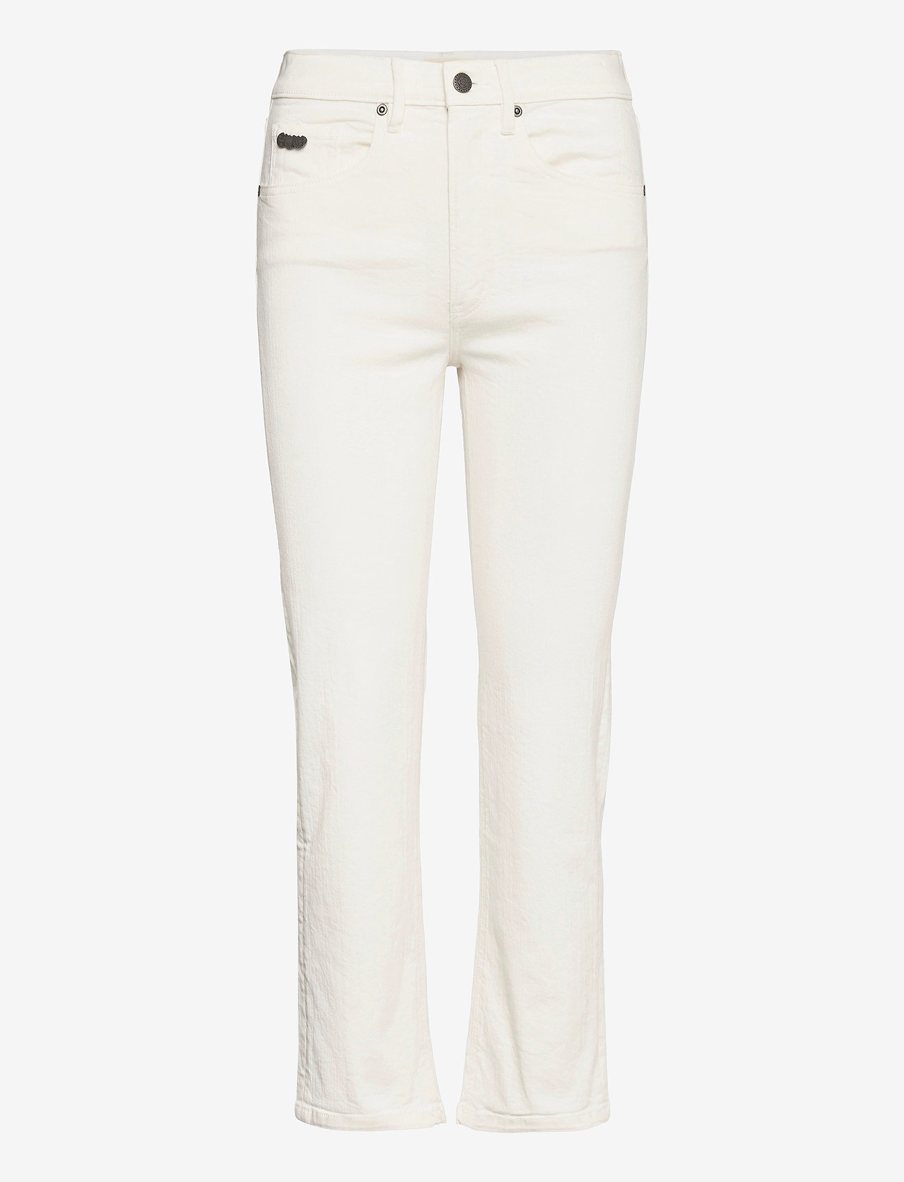 ODD MOLLY - Louise Pants - slim fit bukser - offwhite - 1