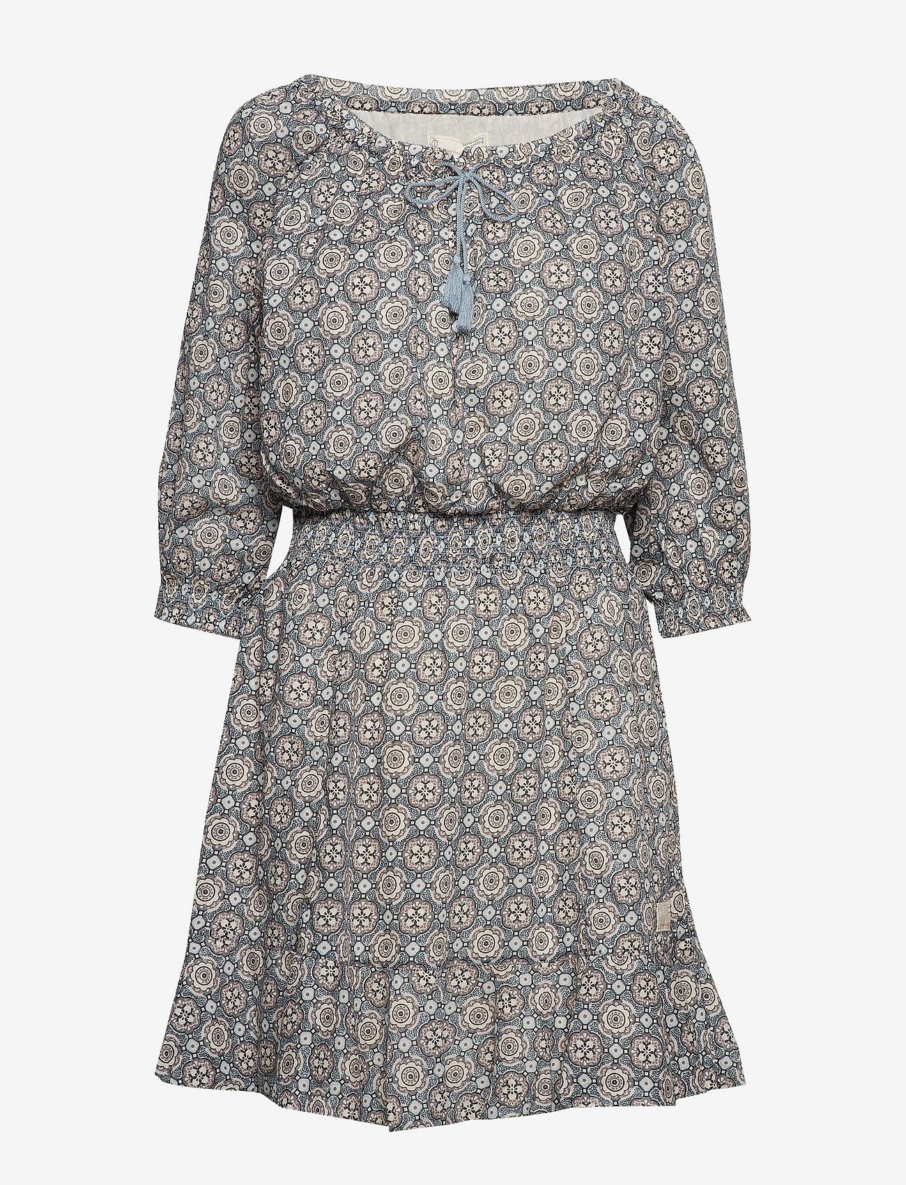 ODD MOLLY - stayin free dress - lyhyet mekot - misty blue