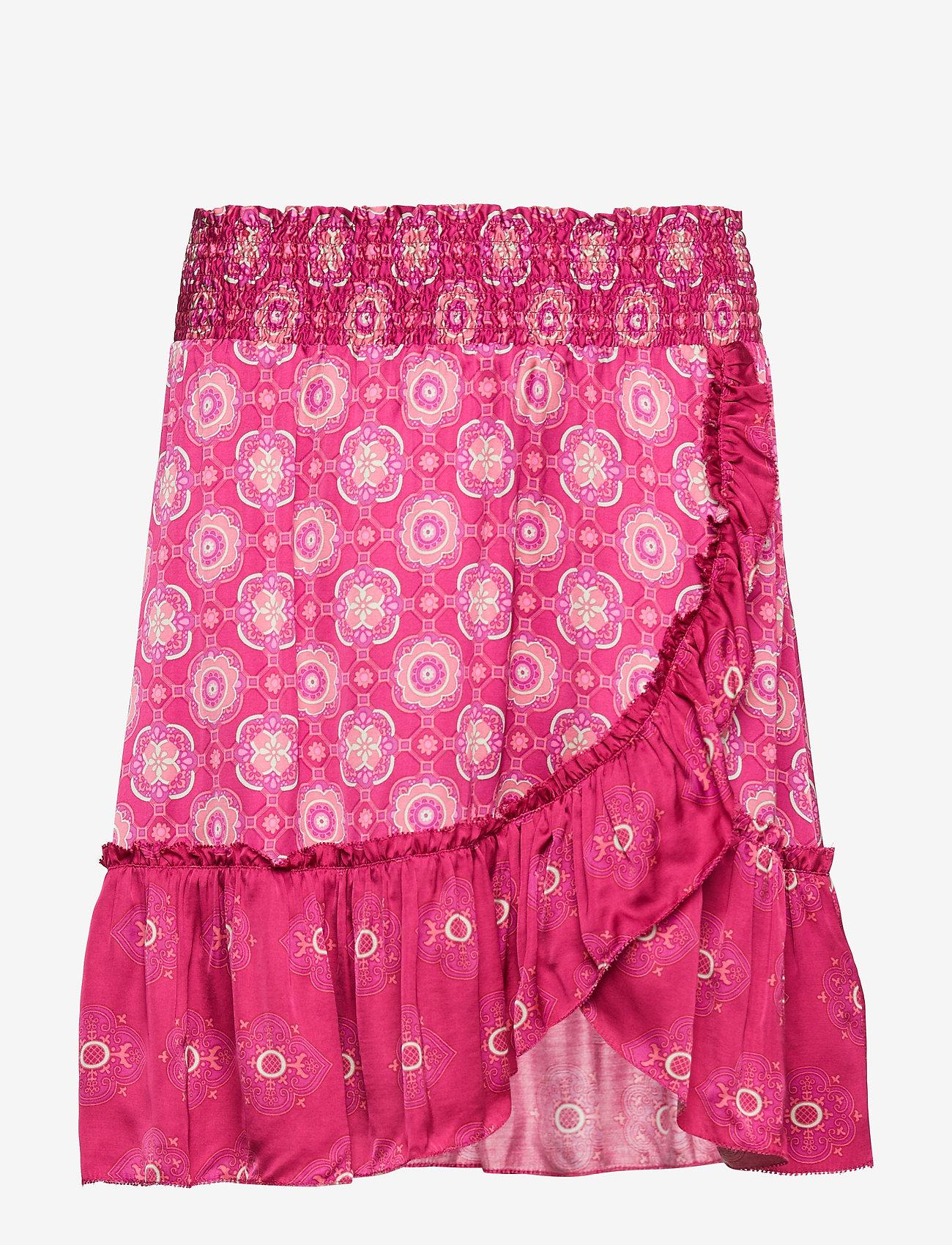 ODD MOLLY - funky belle skirt - lyhyet - dark ruby