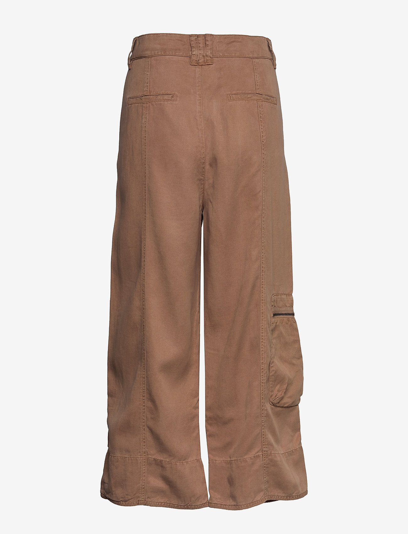 ODD MOLLY - Tender Pants - pantalons larges - chocolate cream - 1