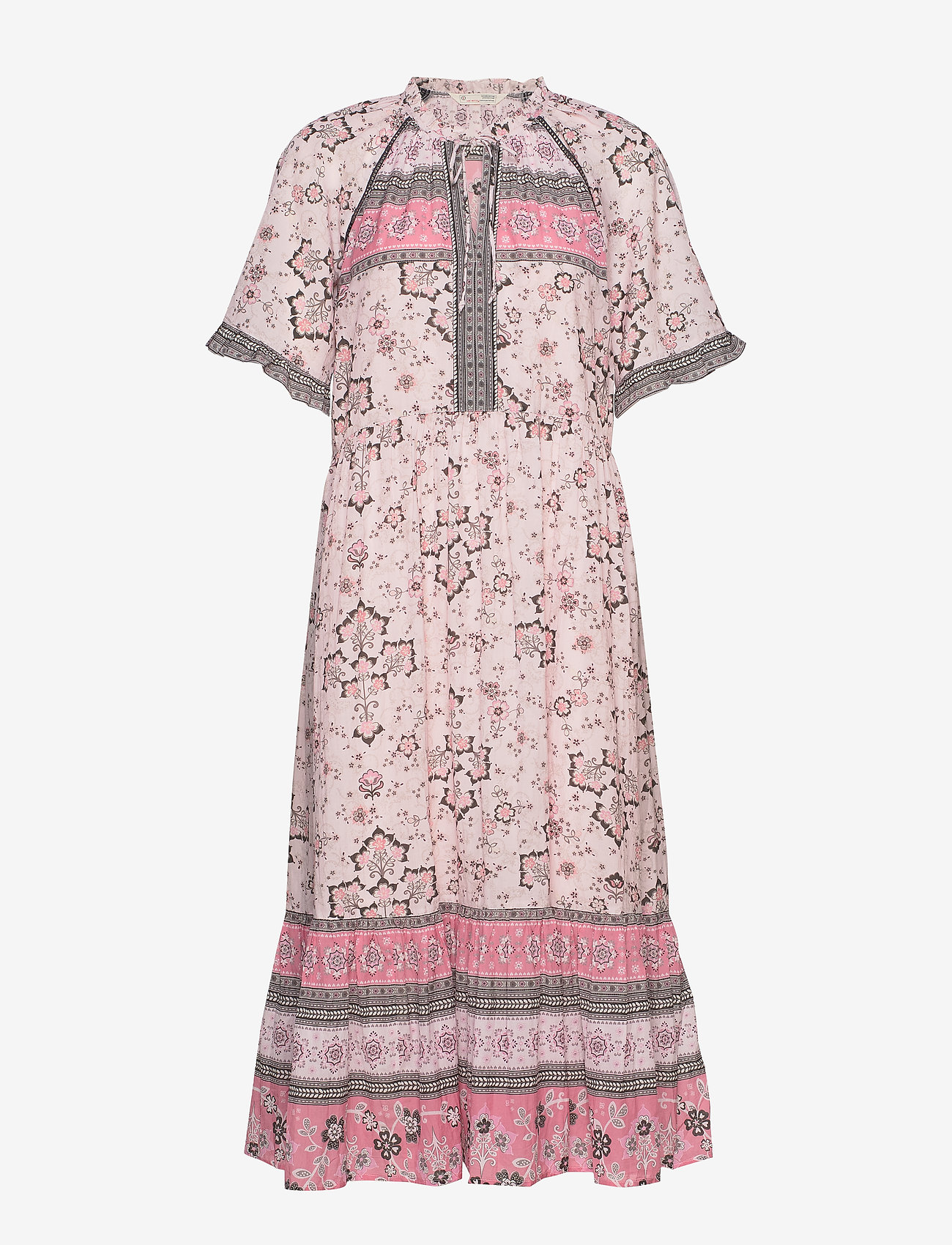 ODD MOLLY - Bohemic Dress - midi kjoler - pink elder - 0