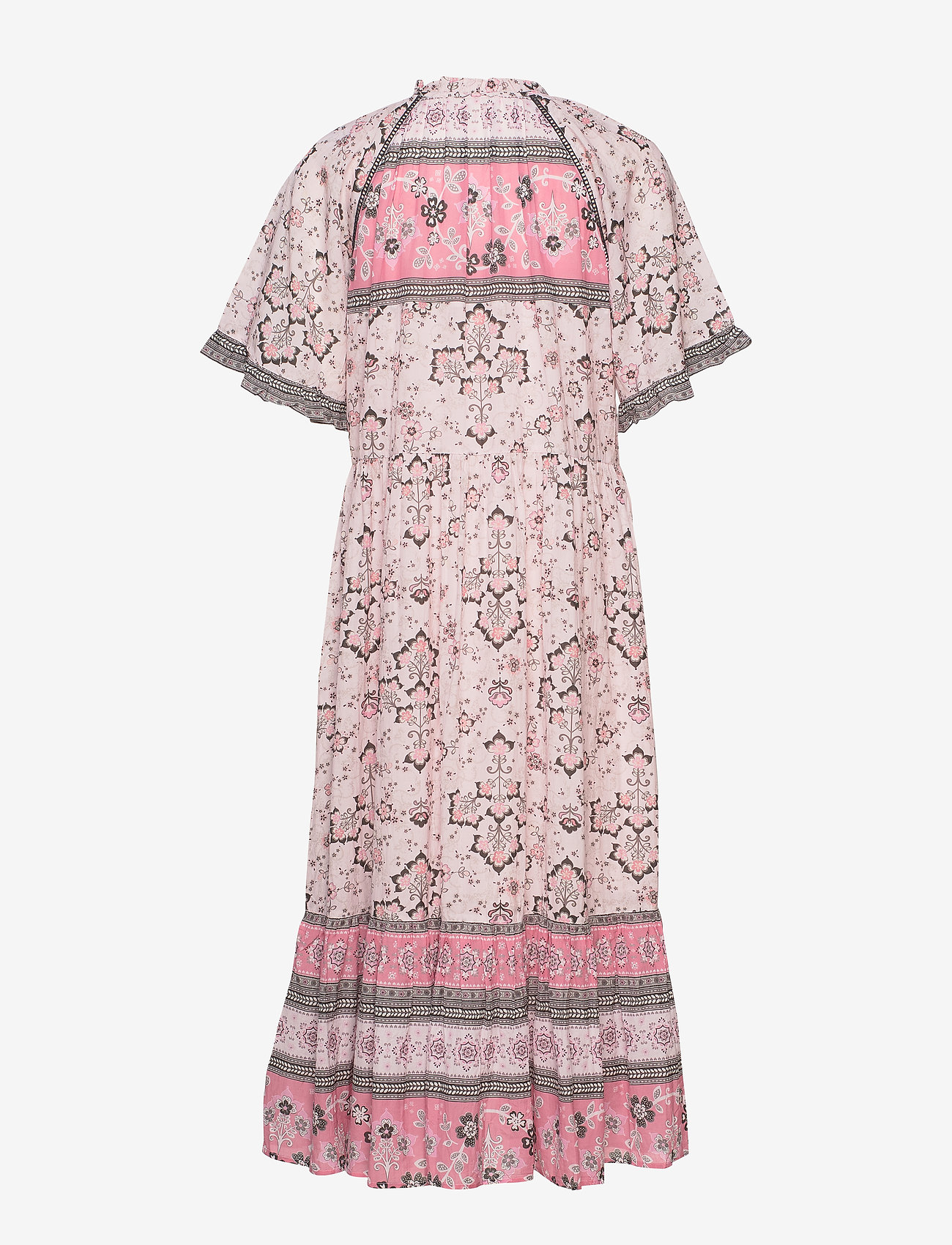 ODD MOLLY - Bohemic Dress - midi kjoler - pink elder - 1