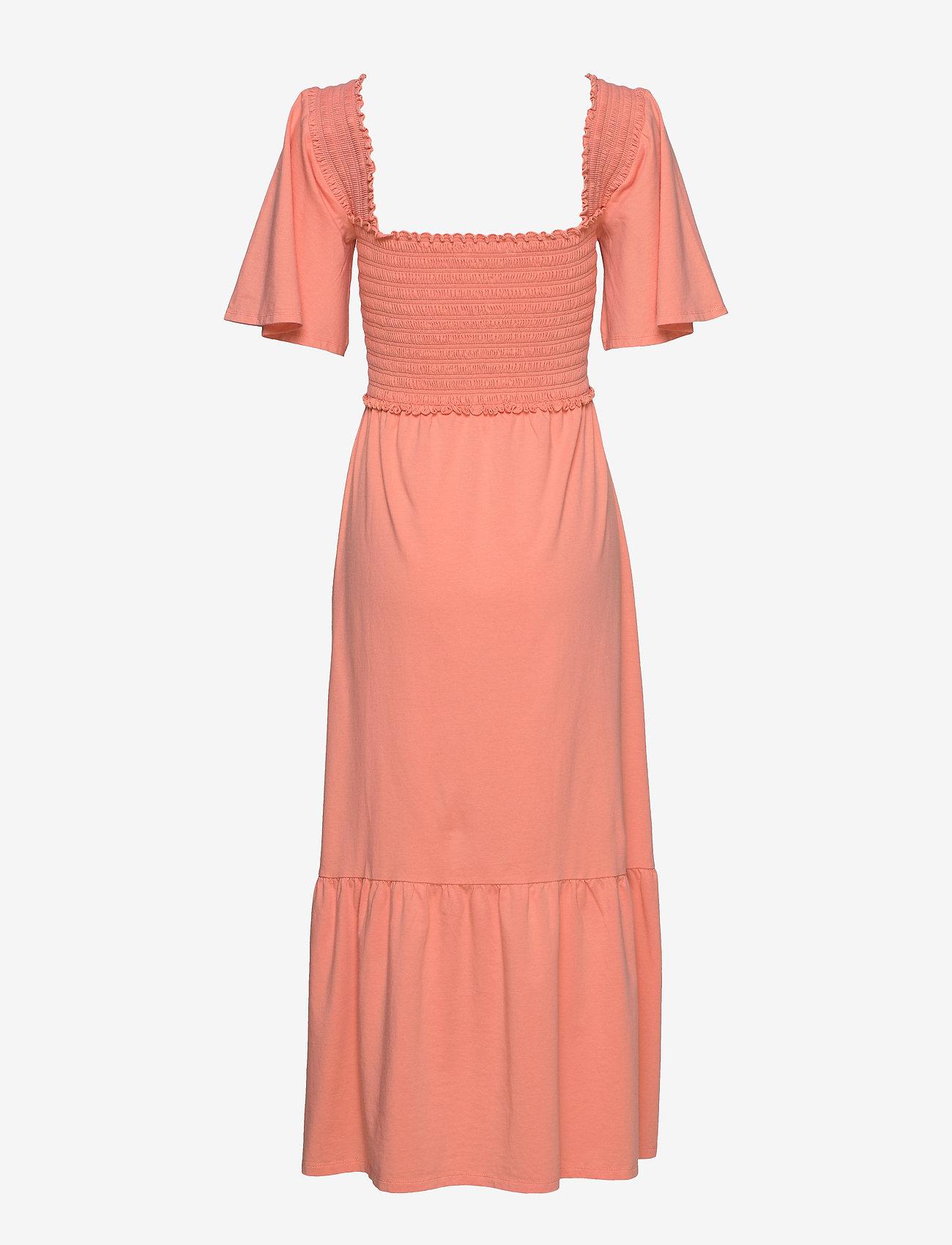 ODD MOLLY - Peppy Dress - hverdagskjoler - perfect papaya - 1