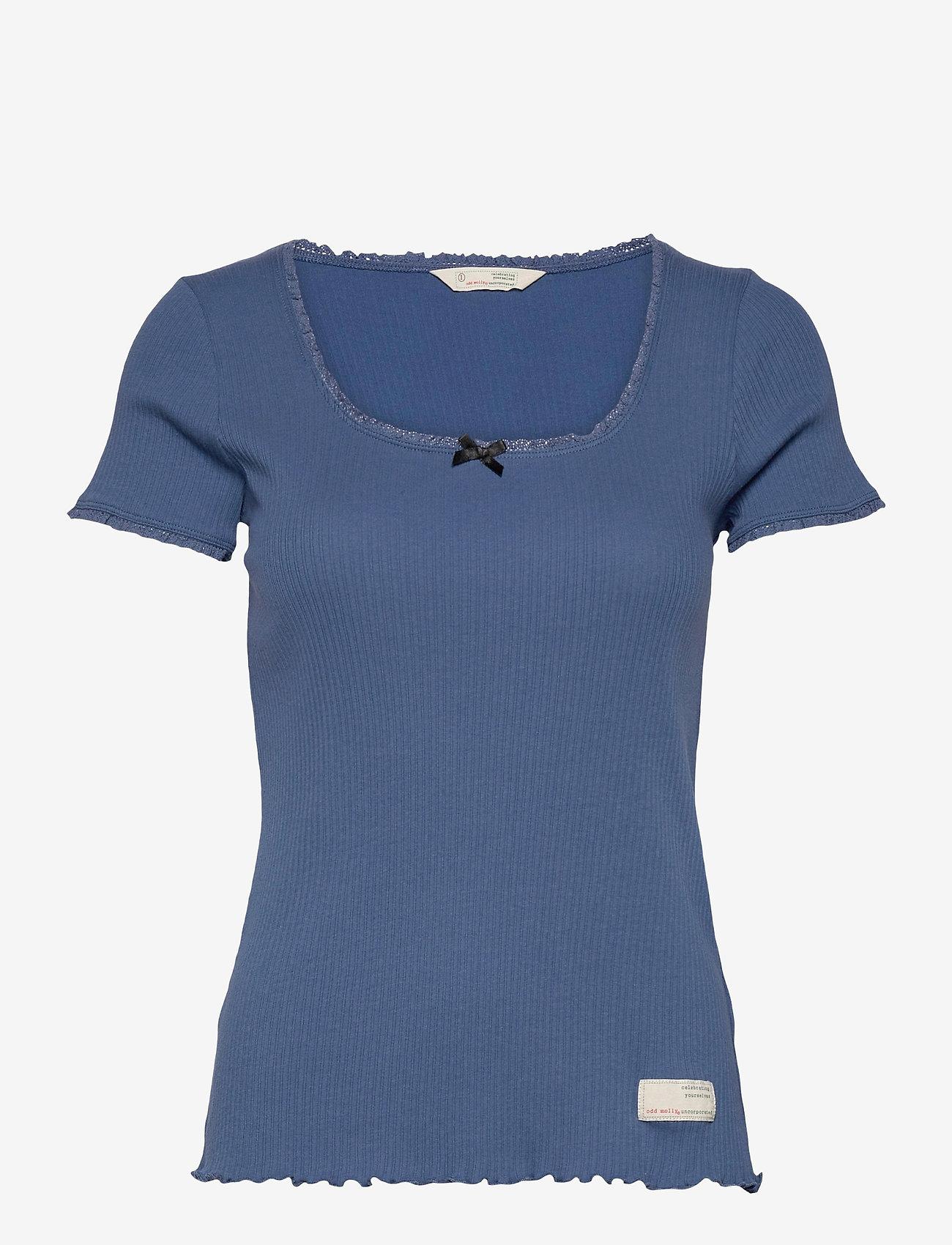 ODD MOLLY - Magda Top - t-shirts - navy - 1