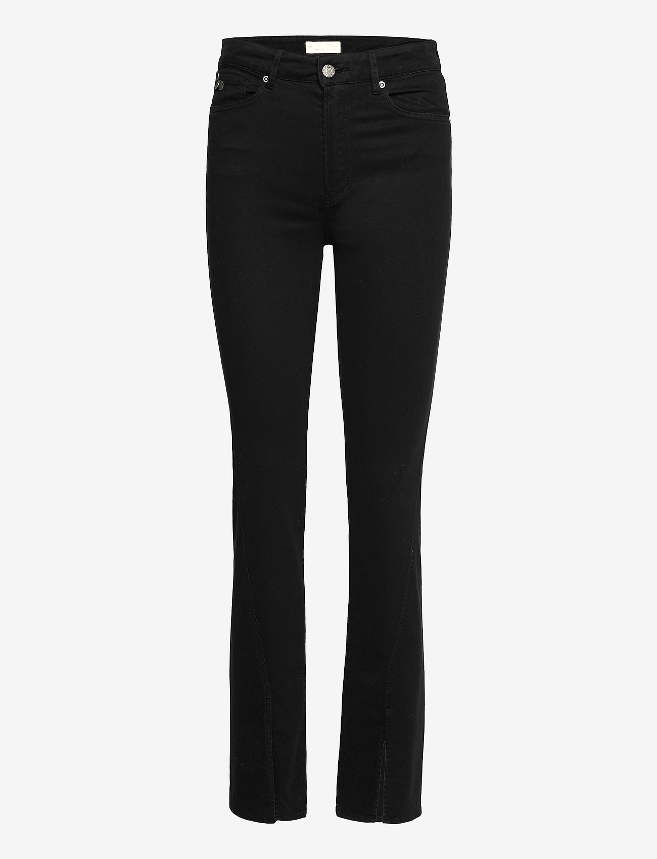 ODD MOLLY - Sheryl Pants - slim fit bukser - almost black - 1
