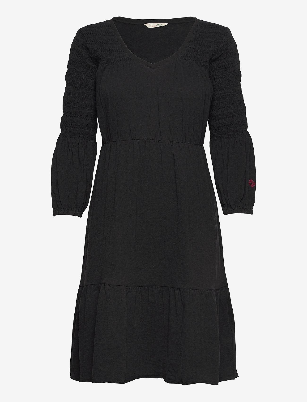 ODD MOLLY - Gloria Dress - sommerkjoler - almost black - 1
