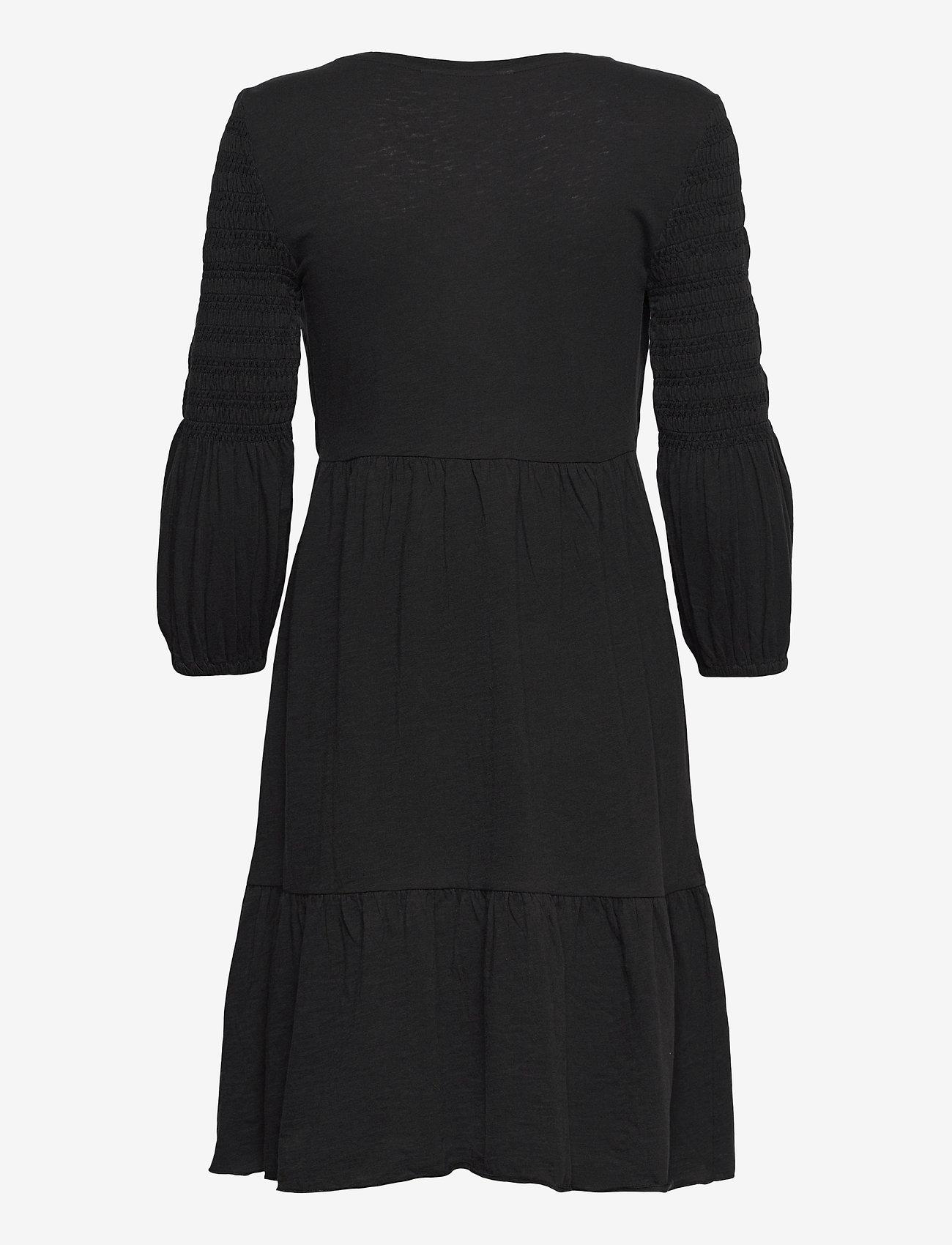 ODD MOLLY - Gloria Dress - sommerkjoler - almost black - 2