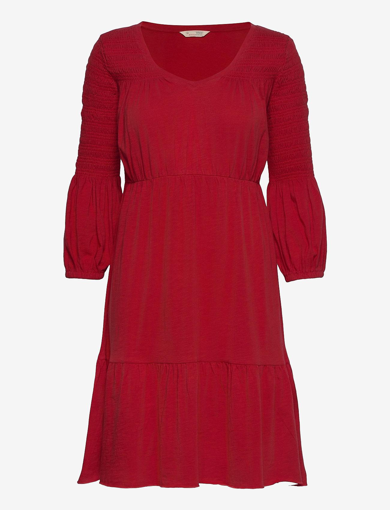 ODD MOLLY - Gloria Dress - hverdagskjoler - cherry red - 1