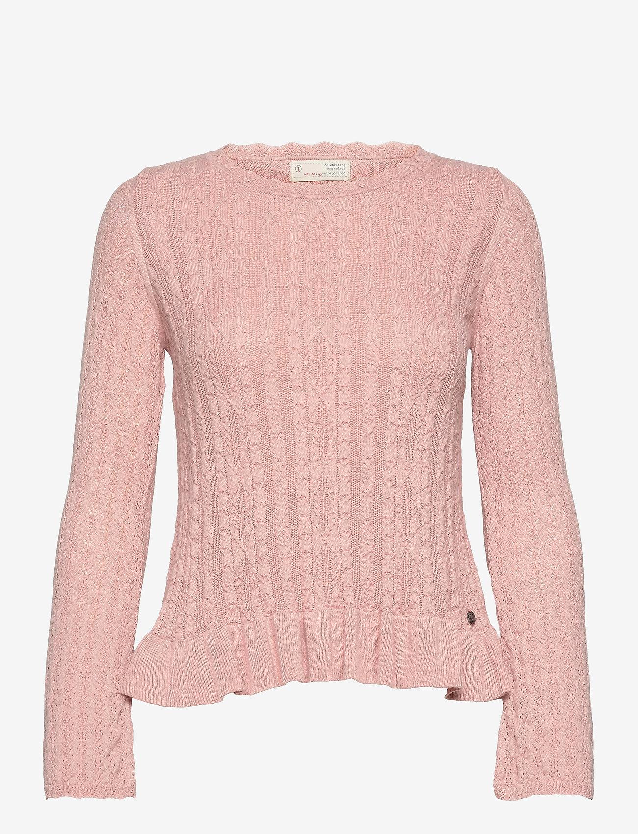 ODD MOLLY - Laura Sweater - sweaters - dark shell - 1