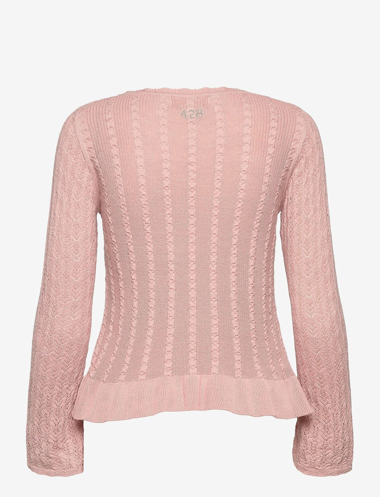 ODD MOLLY - Laura Sweater - sweaters - dark shell - 2
