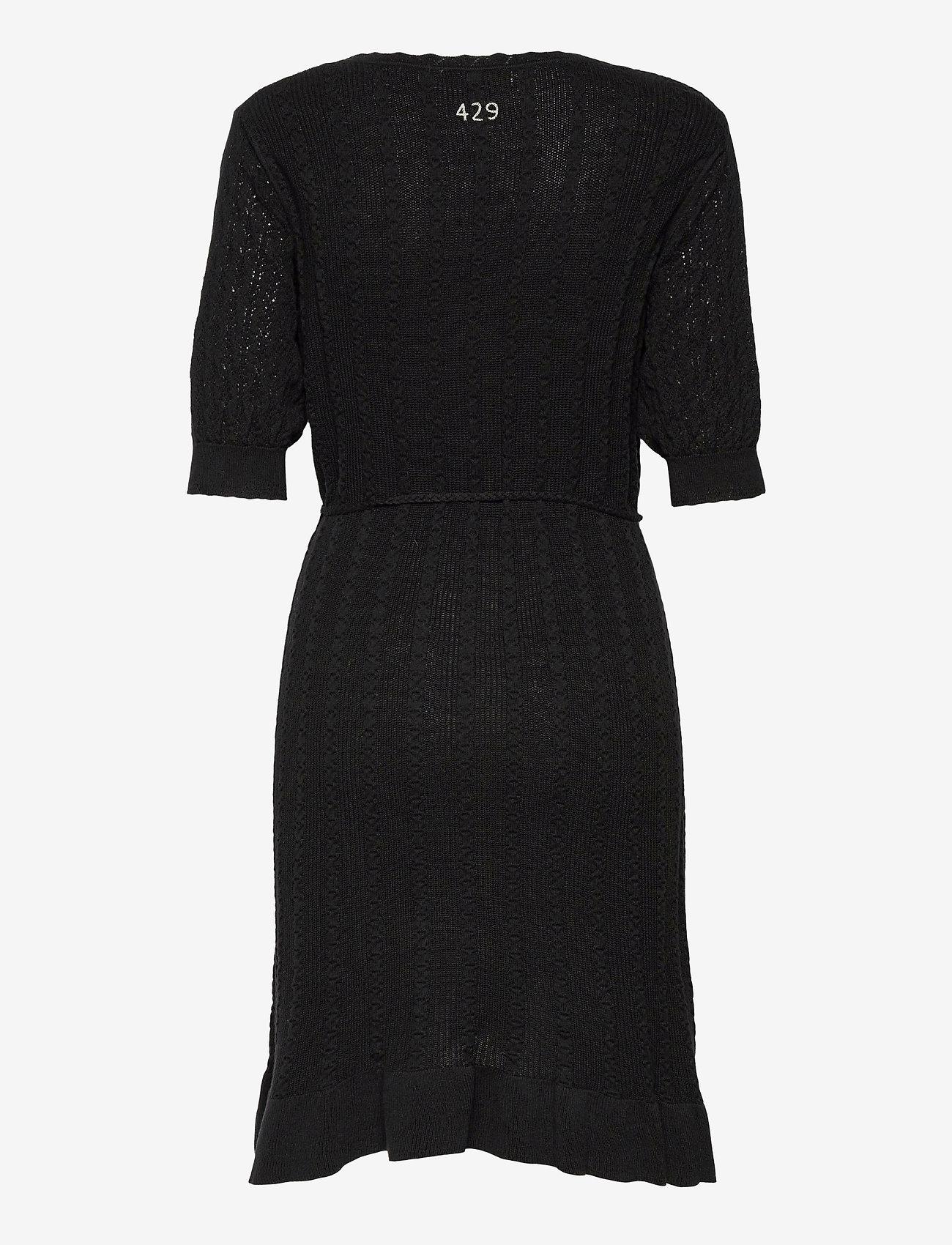 ODD MOLLY - Laura Dress - sommerkjoler - black - 2