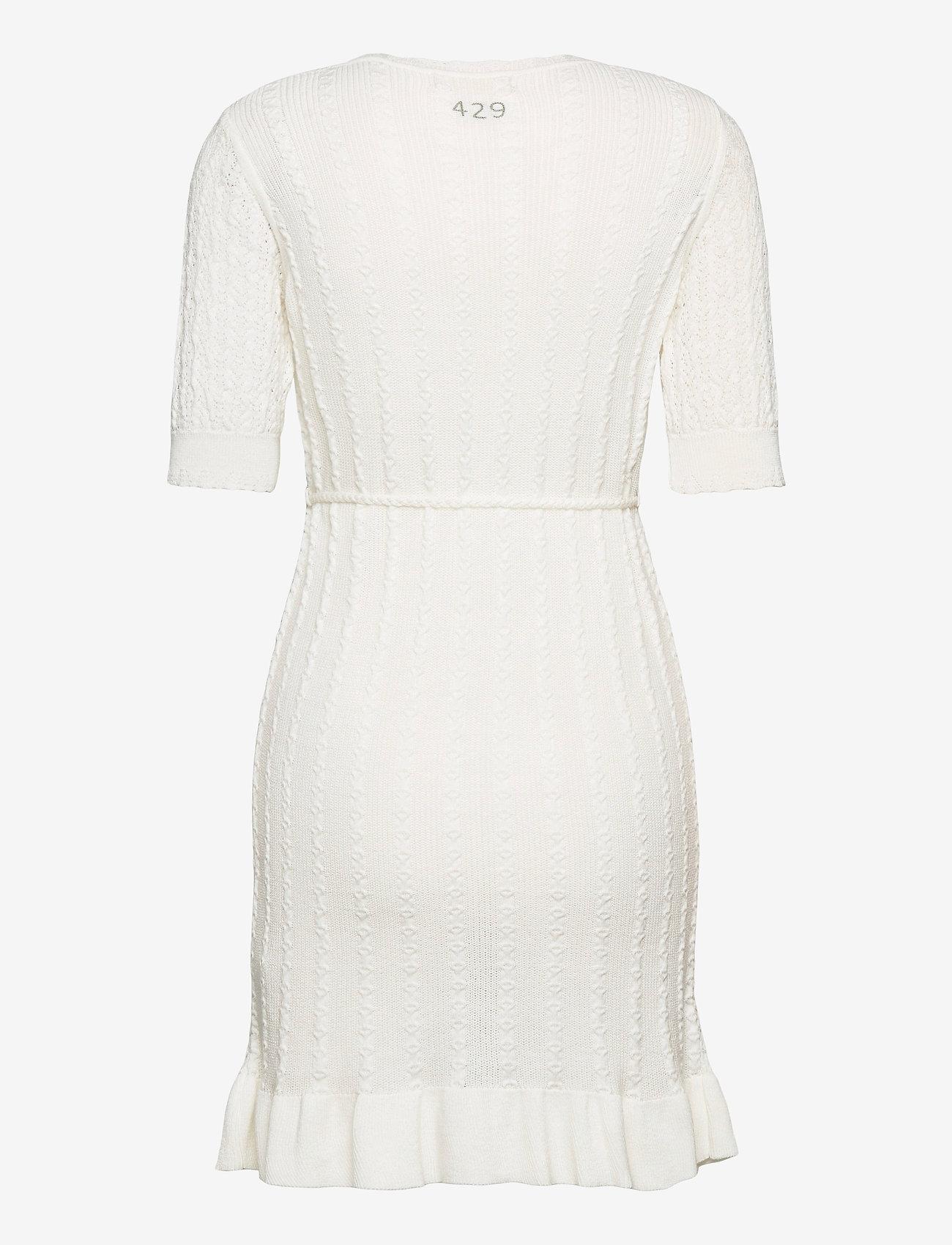 ODD MOLLY - Laura Dress - summer dresses - light chalk - 2