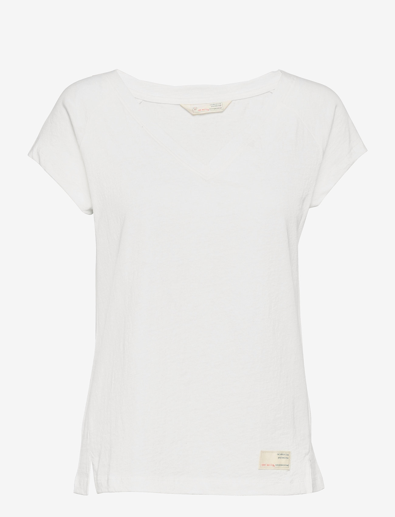ODD MOLLY - Beth Top - t-shirts - light chalk - 1