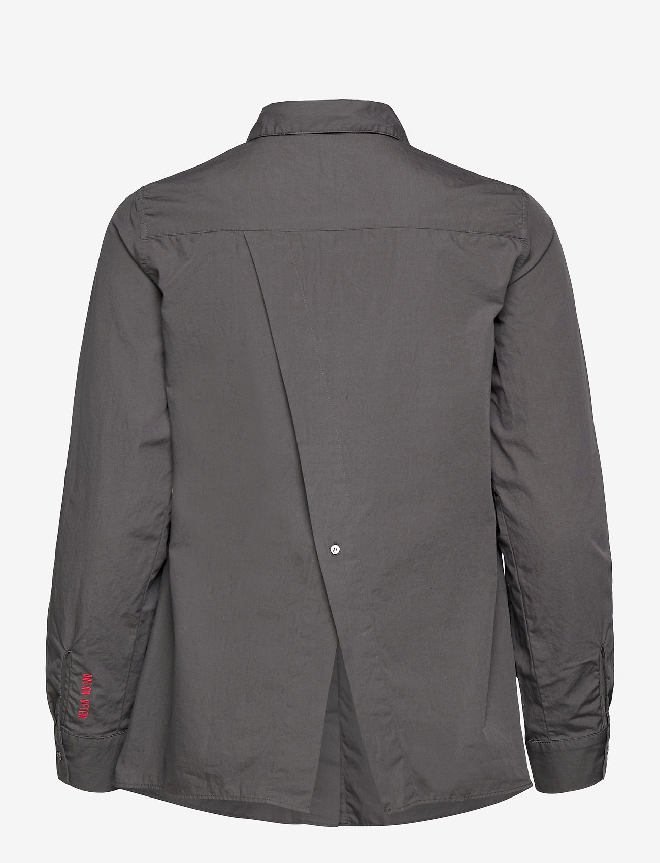 ODD MOLLY - Willow Shirt - long-sleeved shirts - asphalt - 2