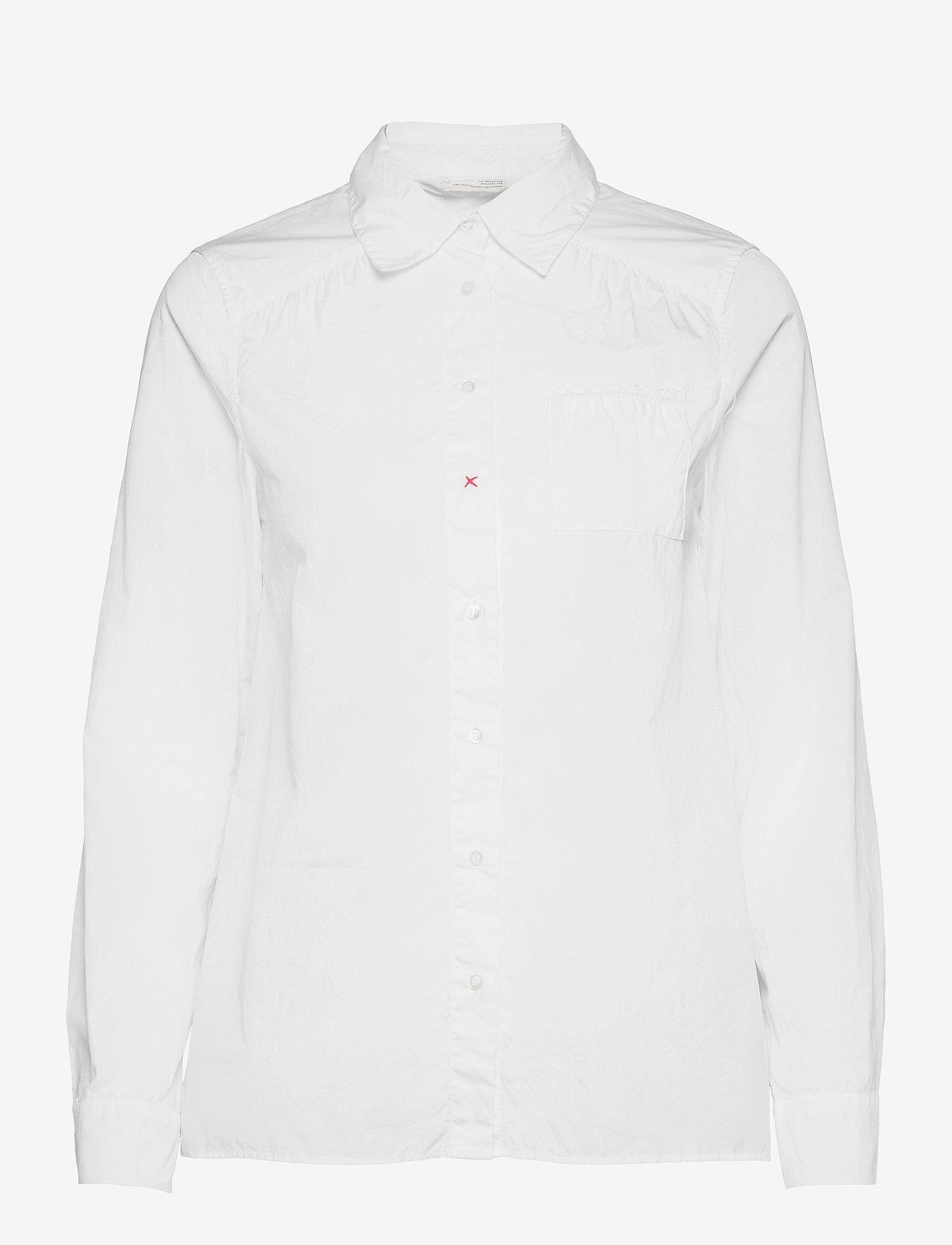 ODD MOLLY - Willow Shirt - langærmede skjorter - bright white - 1