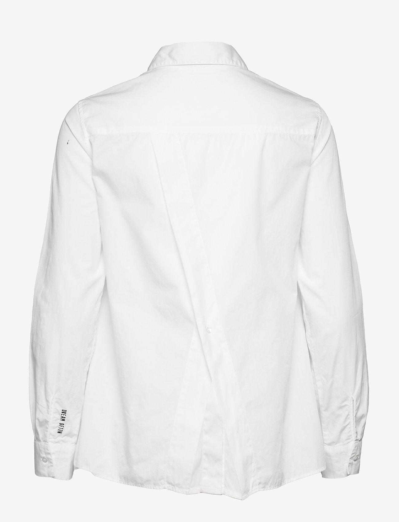 ODD MOLLY - Willow Shirt - langærmede skjorter - bright white - 2
