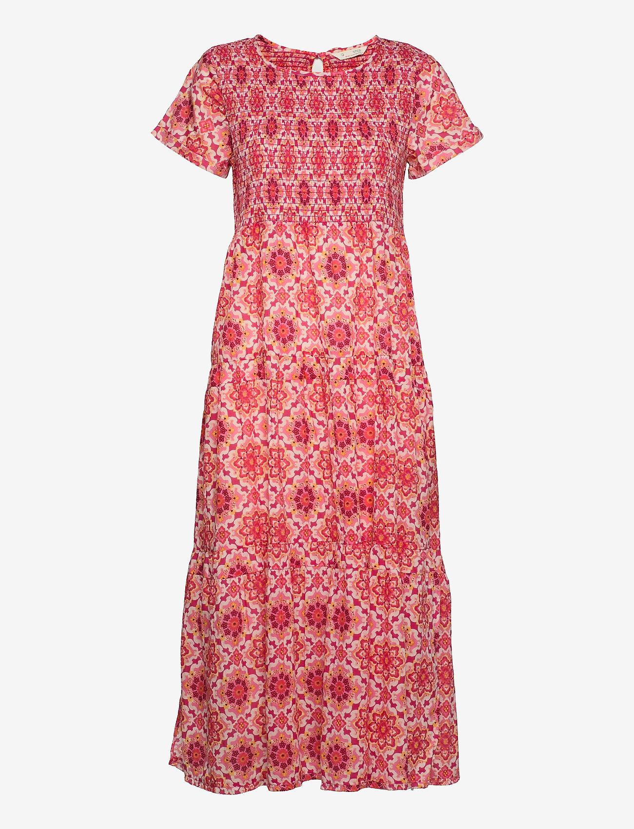 ODD MOLLY - Myrtle Dress - sommerkjoler - pink fudge - 1