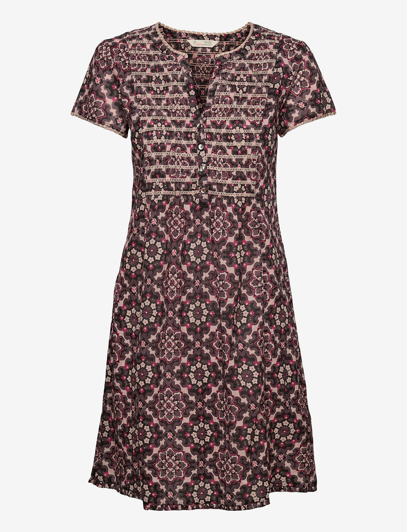 ODD MOLLY - Myrtle Short Dress - sommerkjoler - asphalt - 1