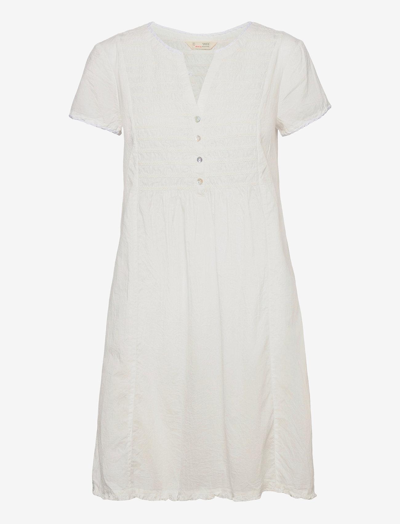 ODD MOLLY - Myrtle Short Dress - sommerkjoler - light chalk - 1