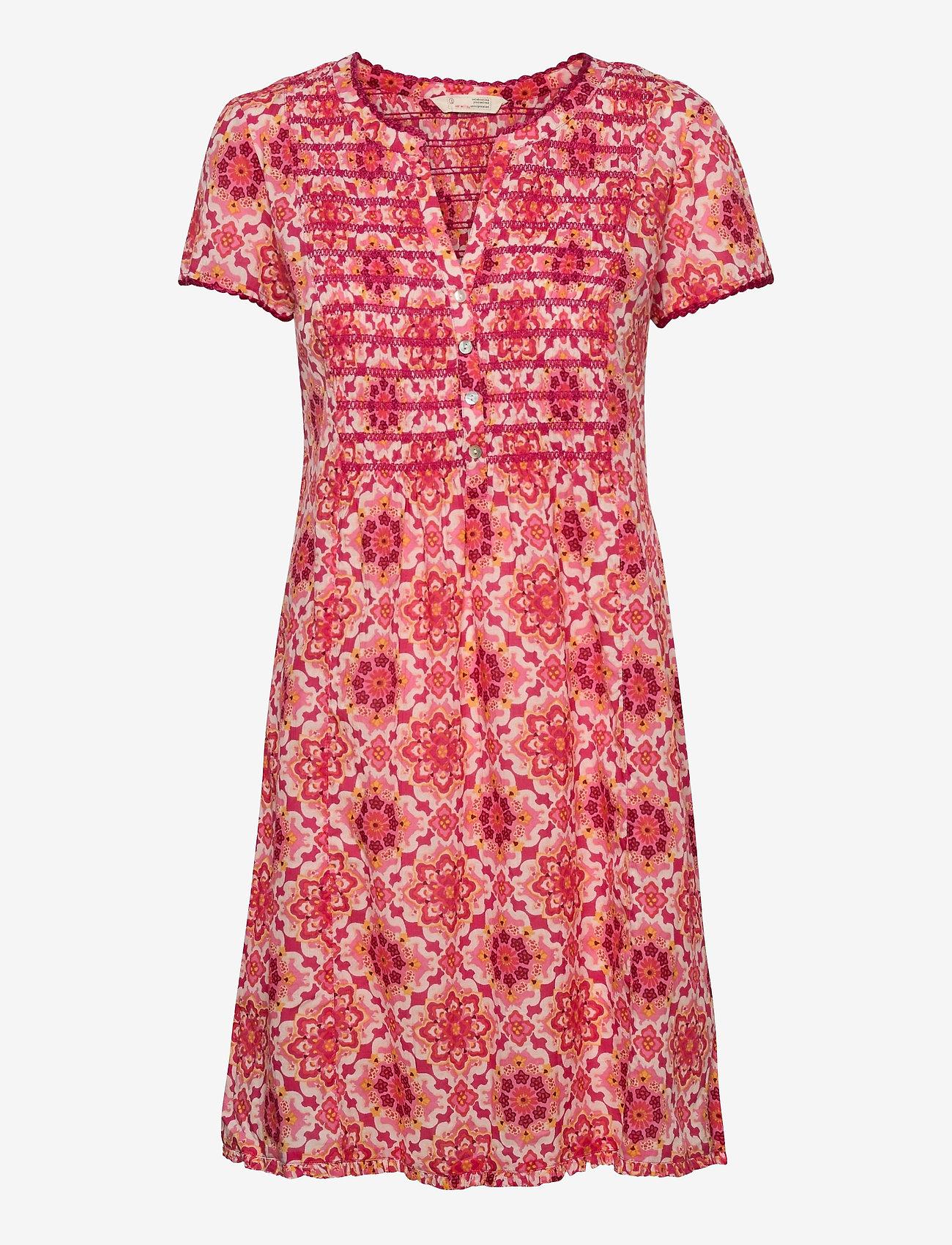 ODD MOLLY - Myrtle Short Dress - sommerkjoler - pink fudge - 1