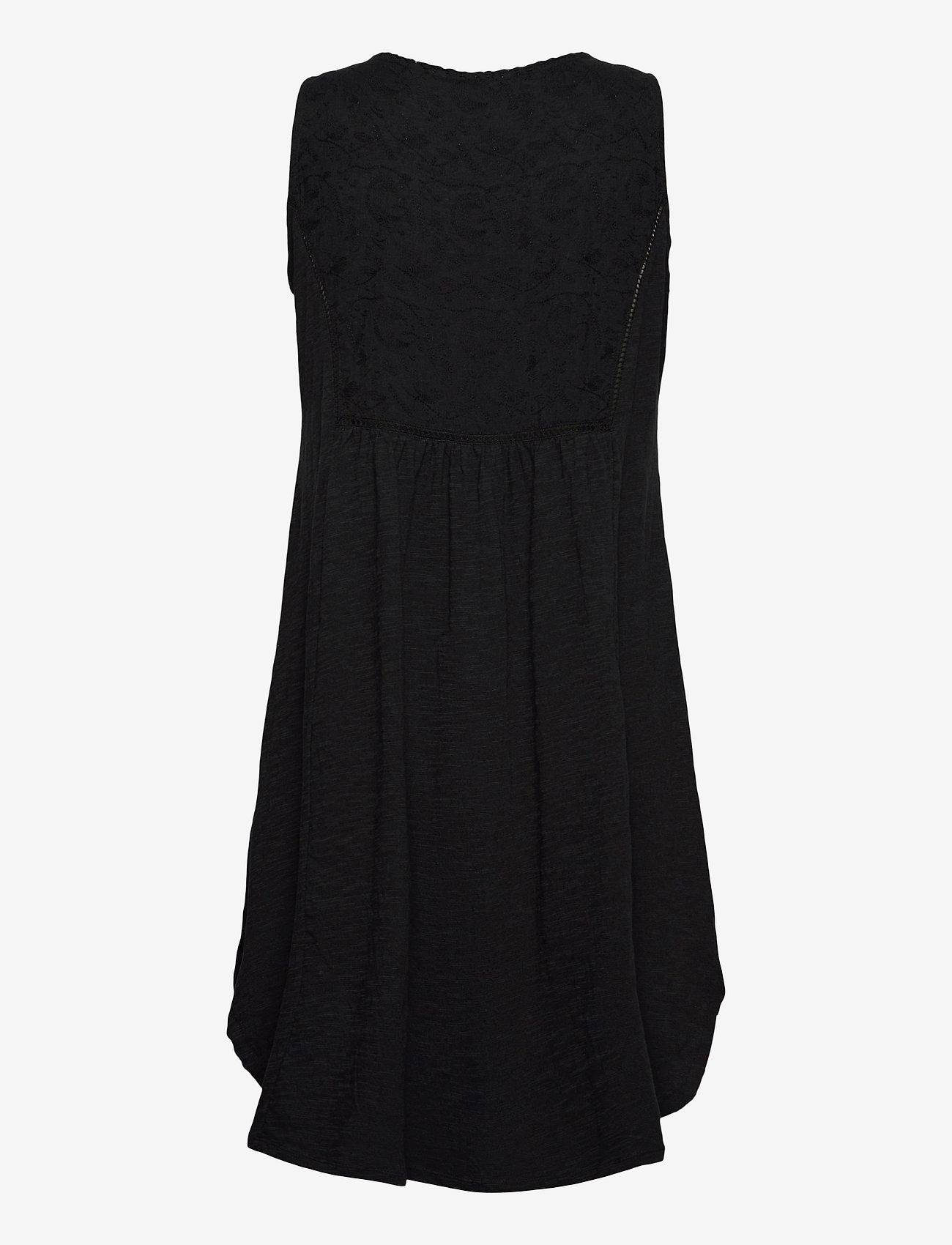 ODD MOLLY - Artful Dress - sommerkjoler - almost black - 1