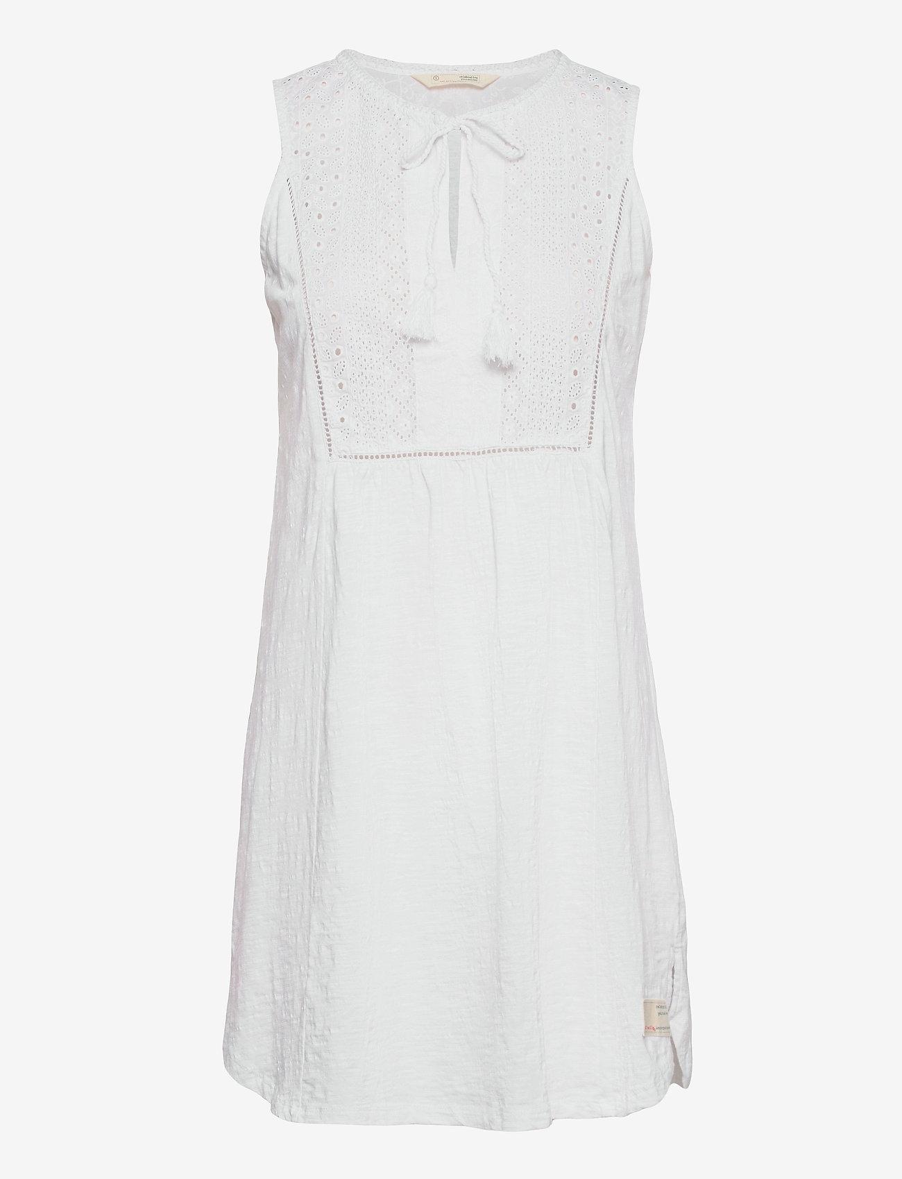 ODD MOLLY - Artful Dress - sommerkjoler - bright white - 0
