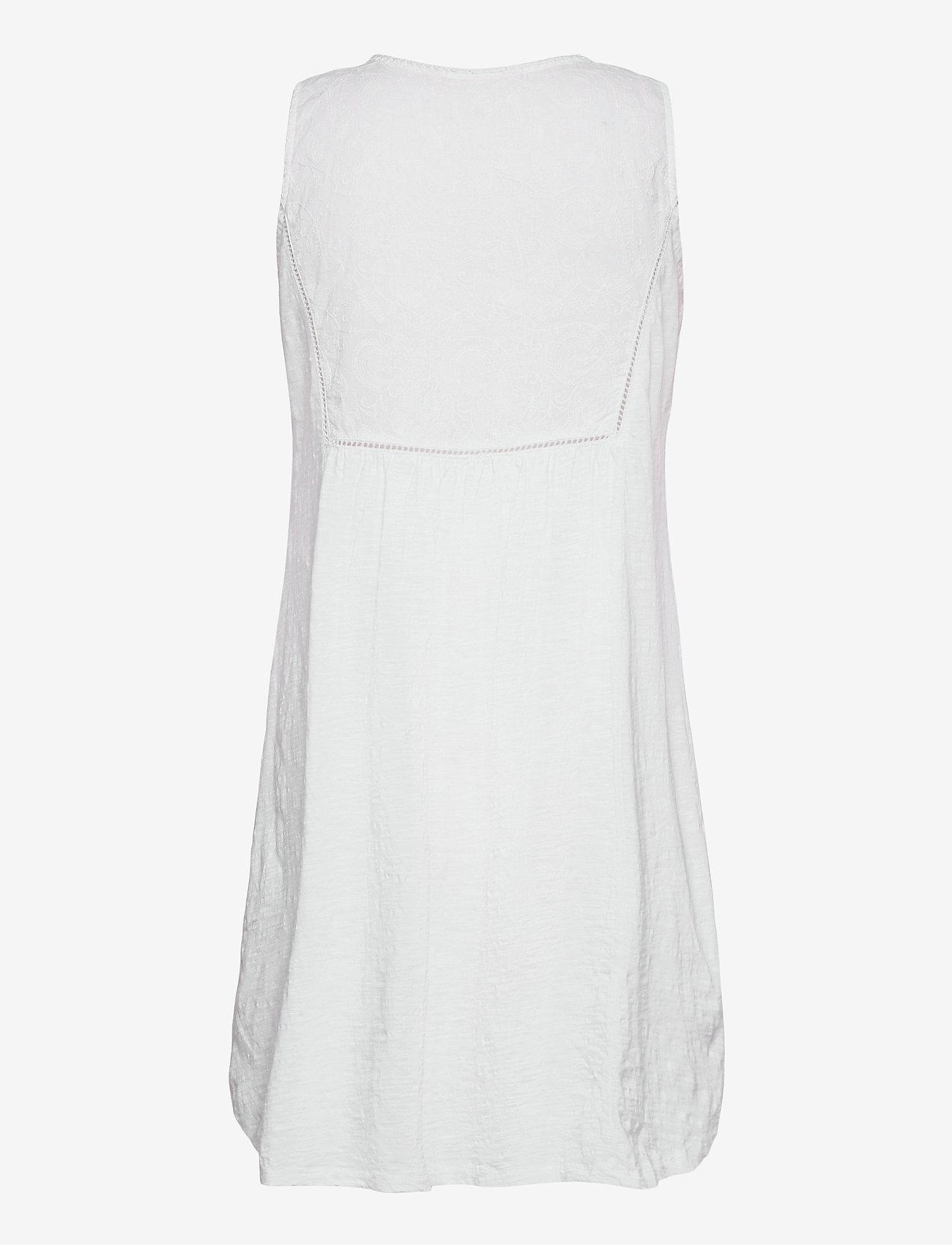 ODD MOLLY - Artful Dress - sommerkjoler - bright white - 1