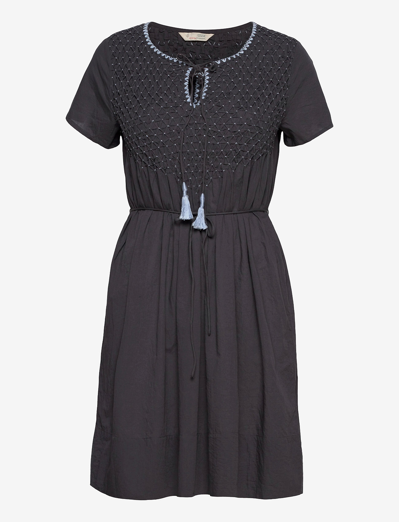 ODD MOLLY - Darya Dress - sommerkjoler - asphalt - 1