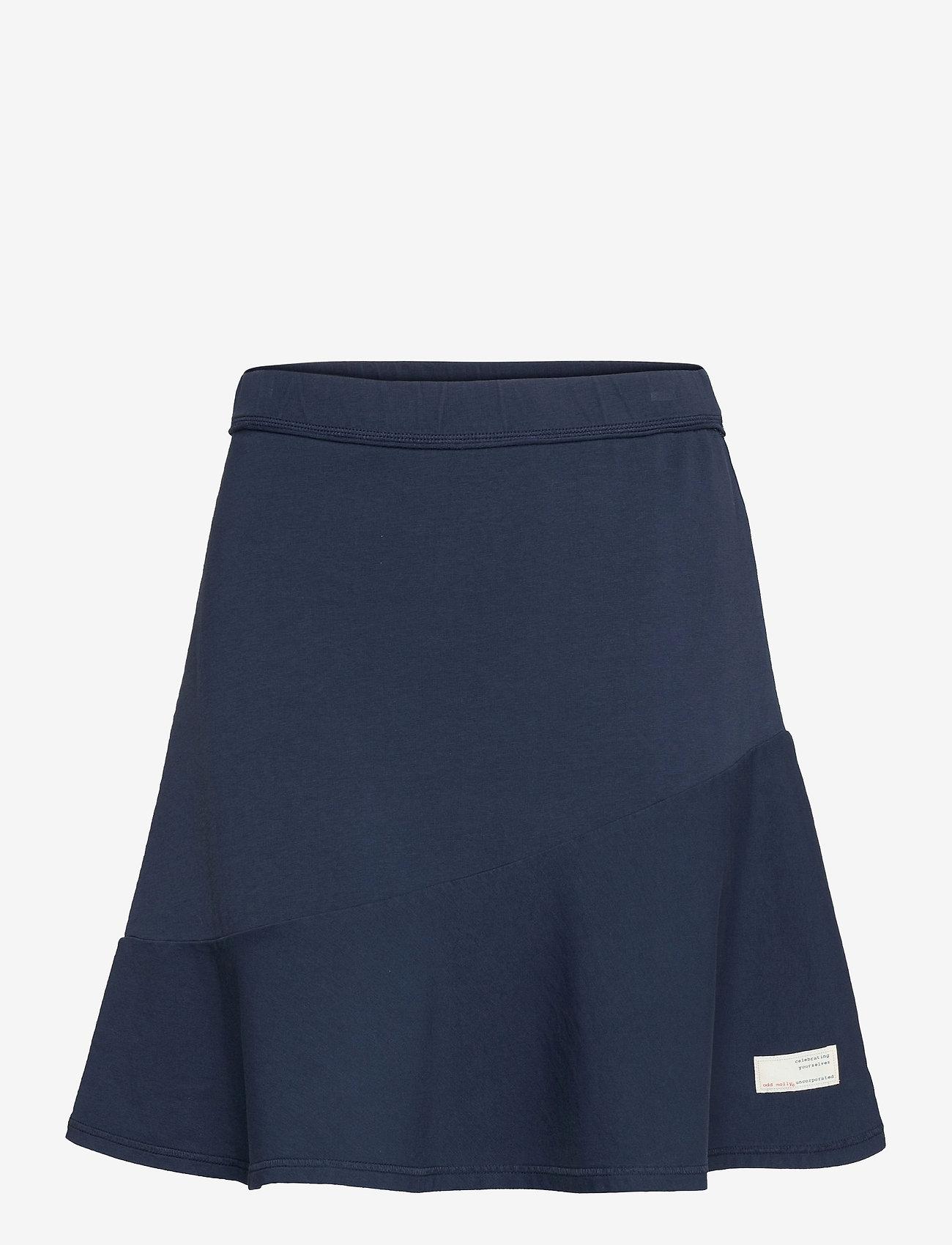 ODD MOLLY - Sweep Away Skirt - korte nederdele - deep navy - 1