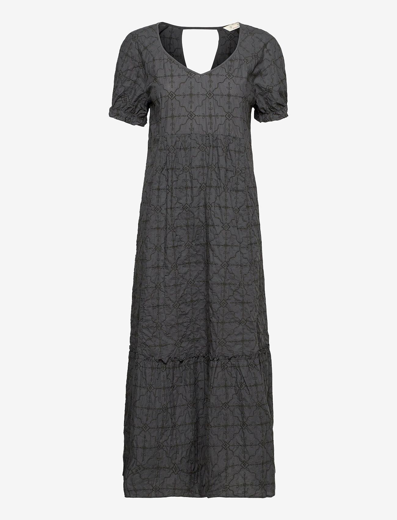 ODD MOLLY - Latrice Dress - sommerkjoler - asphalt - 1