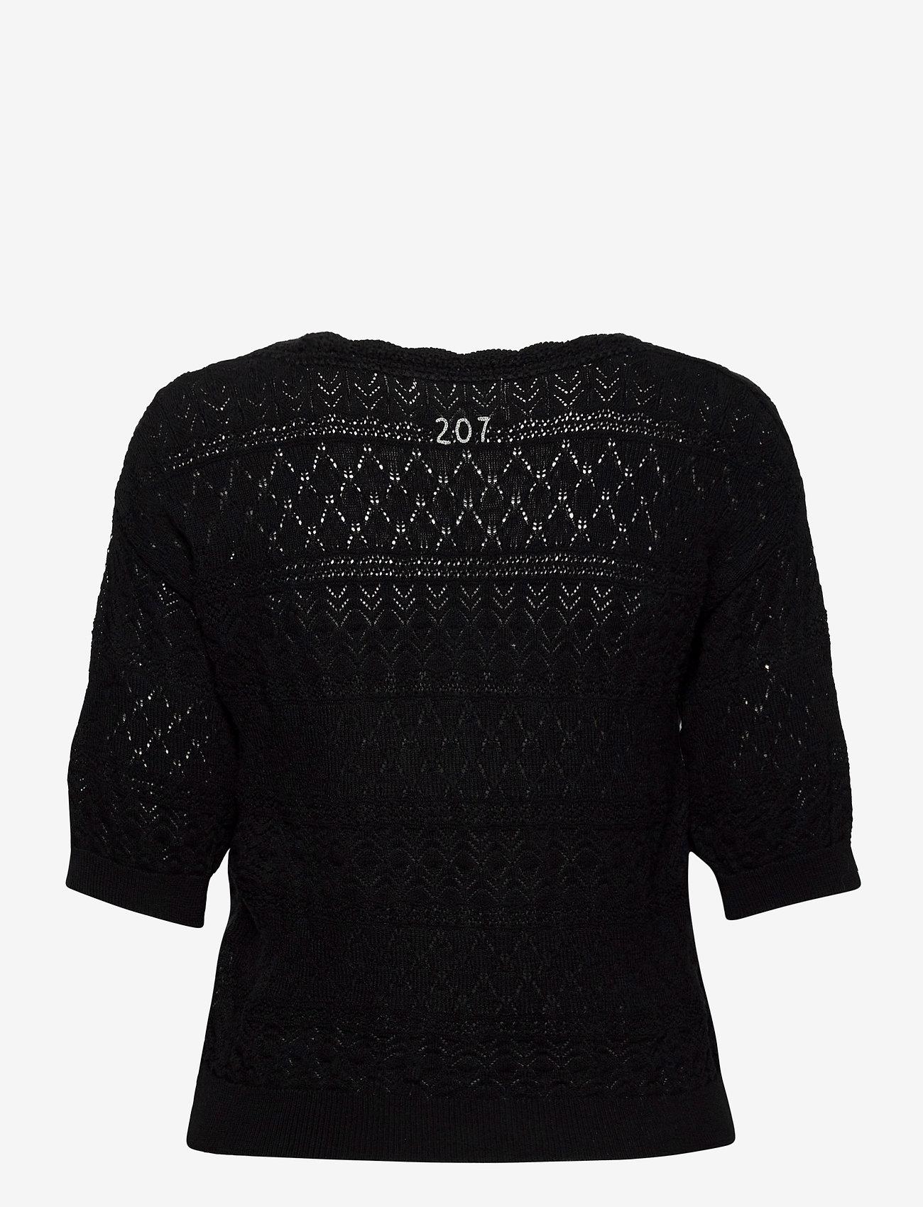 ODD MOLLY - Lucky Charm Sweater - hauts tricotés - black - 1
