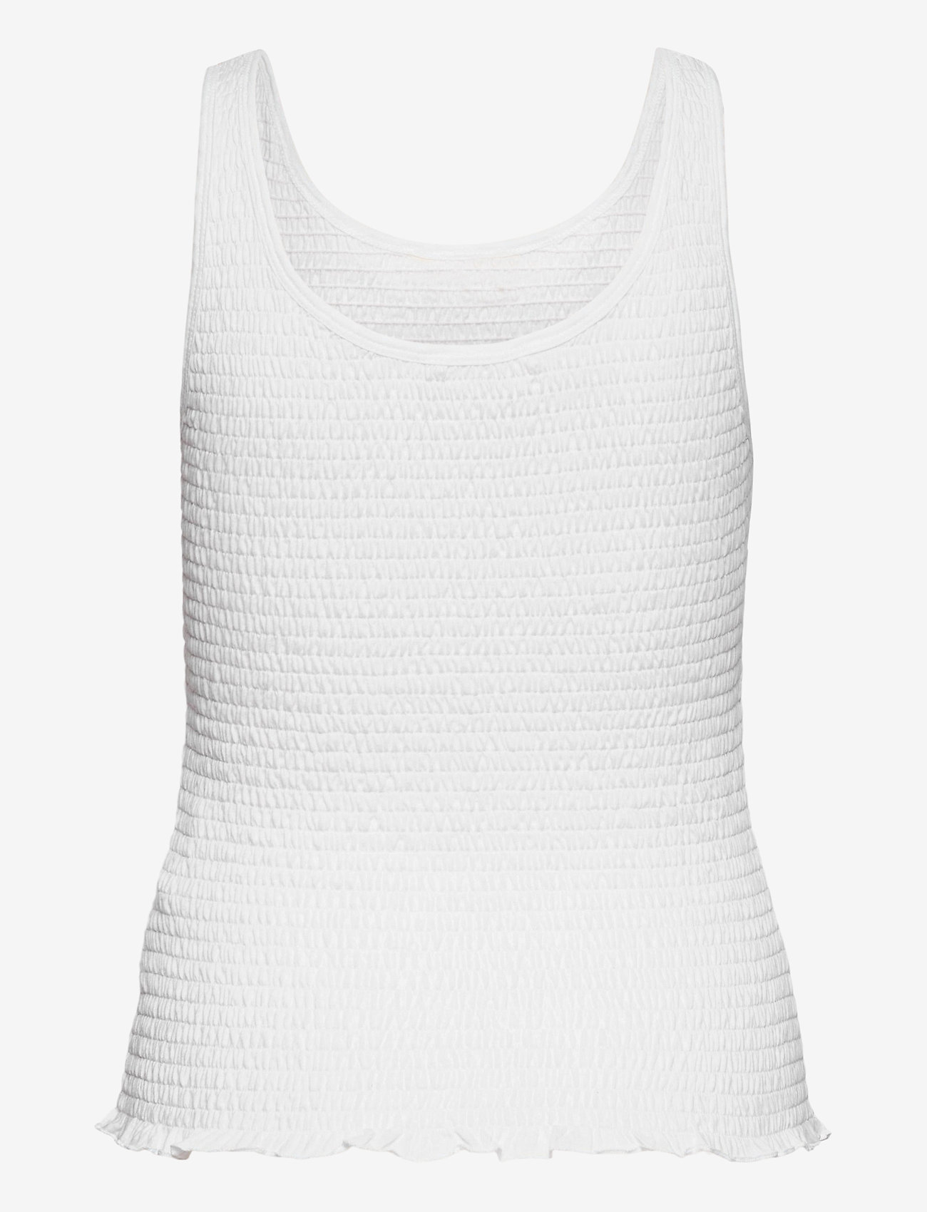 ODD MOLLY - Alluring Smock Top - hauts sans manches - bright white - 1