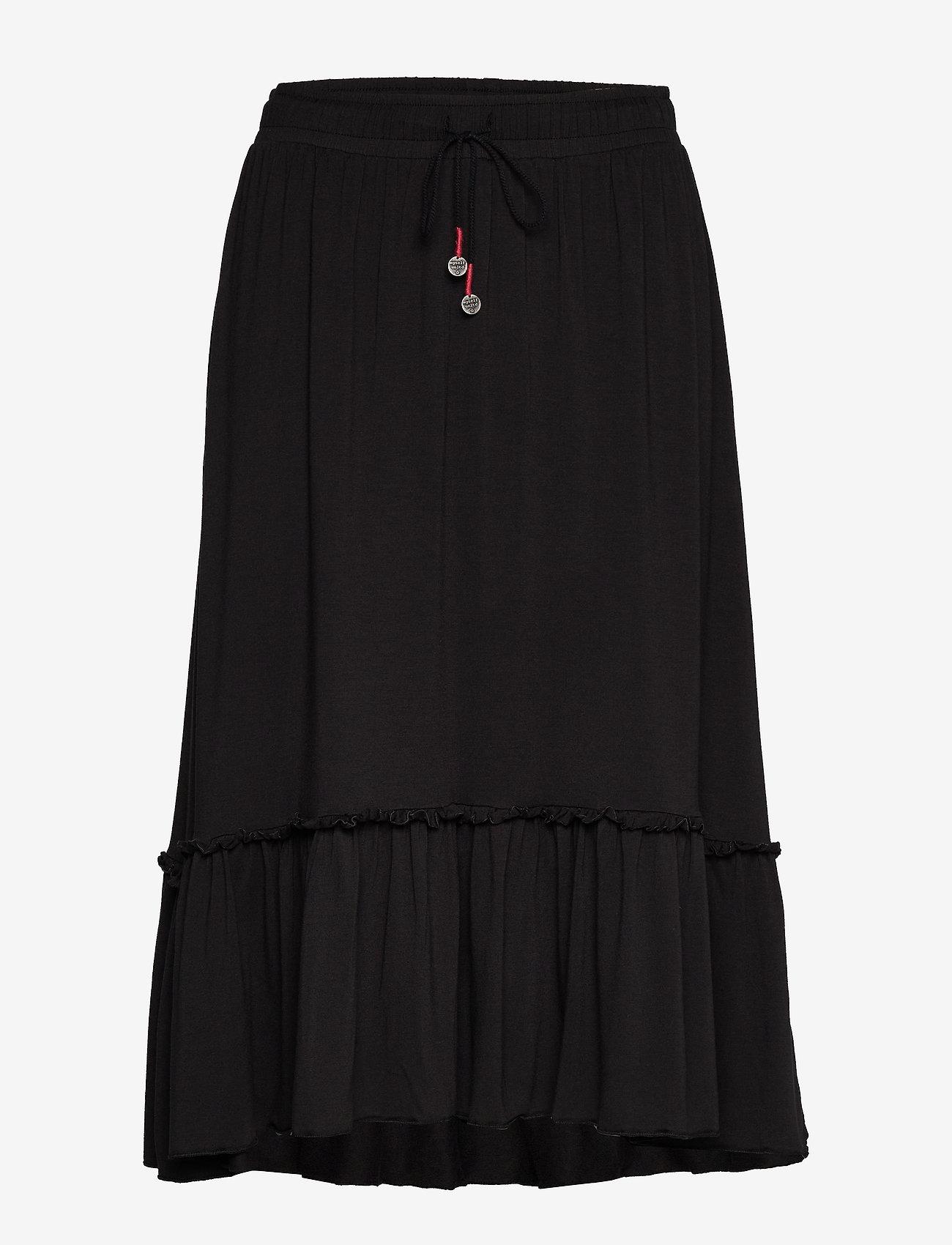 ODD MOLLY - My Beloved Skirt - træningsnederdele - almost black - 0