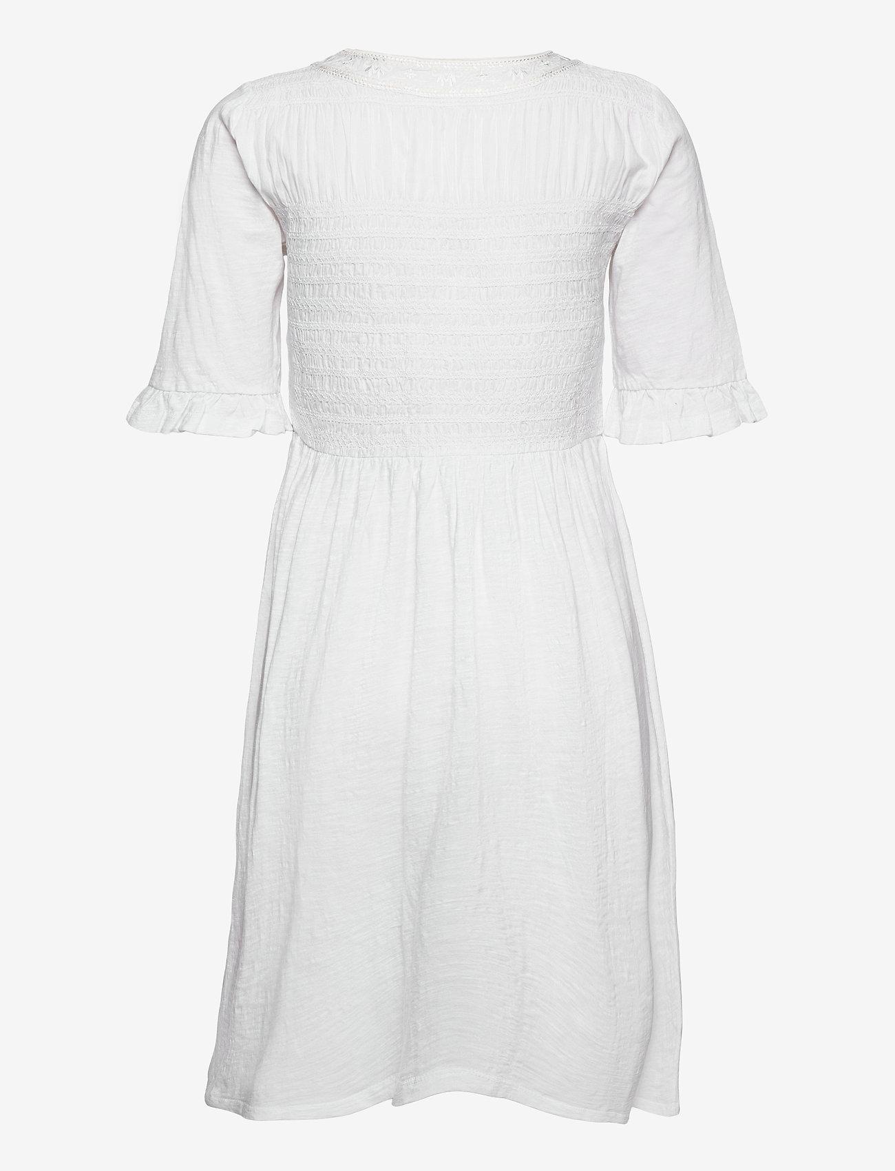 ODD MOLLY - Expressive Move Dress - hverdagskjoler - bright white - 1