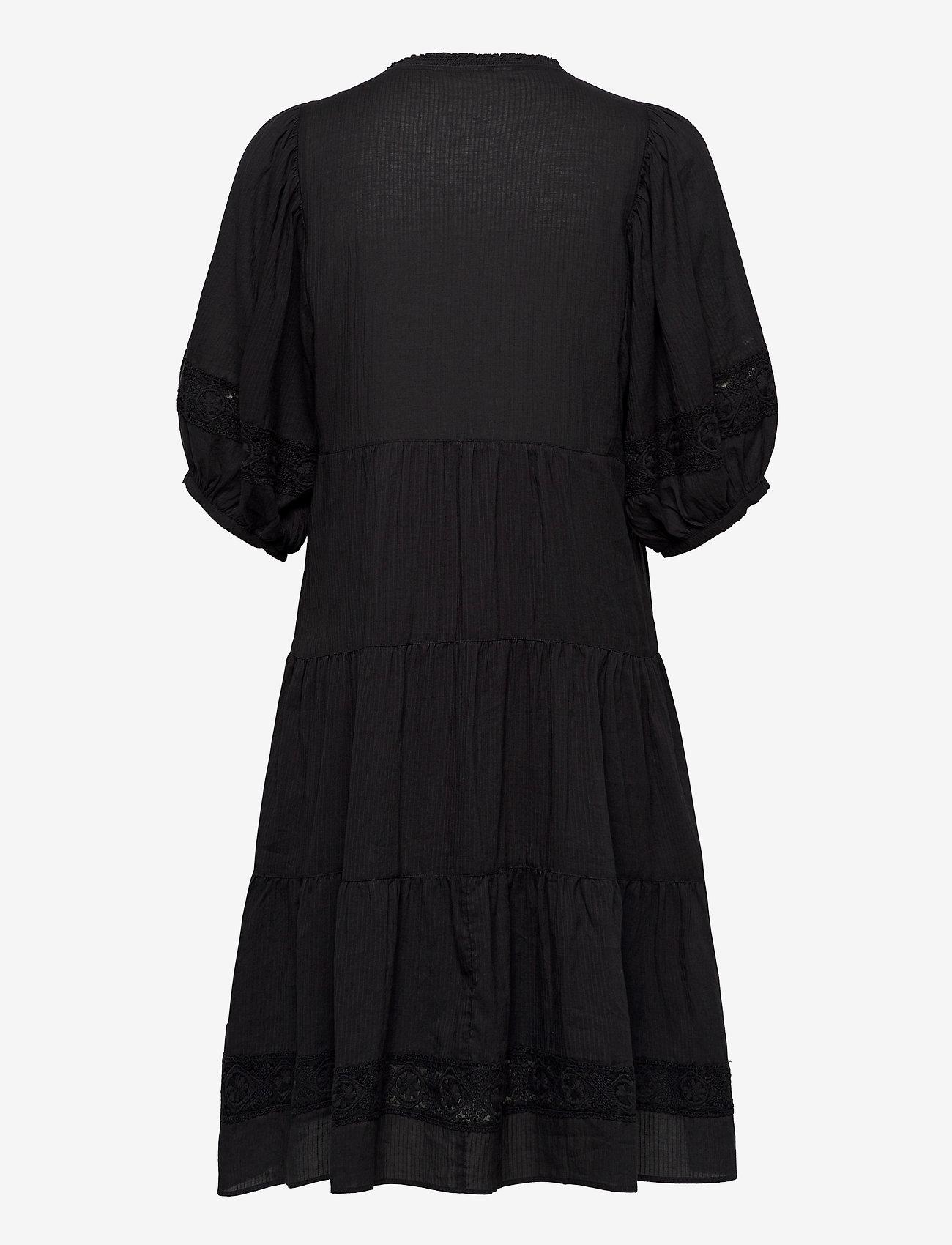 ODD MOLLY - Laura Dress - midi kjoler - asphalt - 1